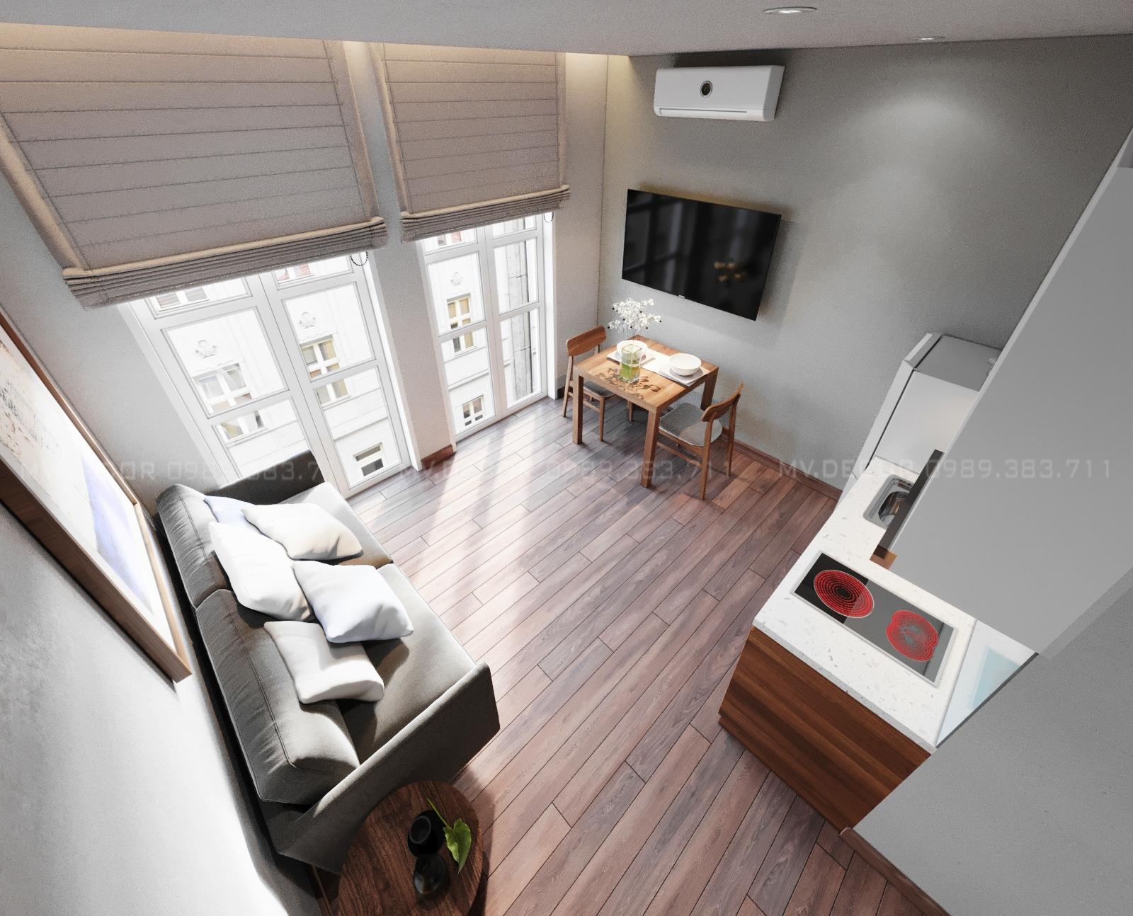 thiết kế nội thất Khách Sạn tại Hải Phòng căn hộ khách sạn cho thuê  11 1562943966