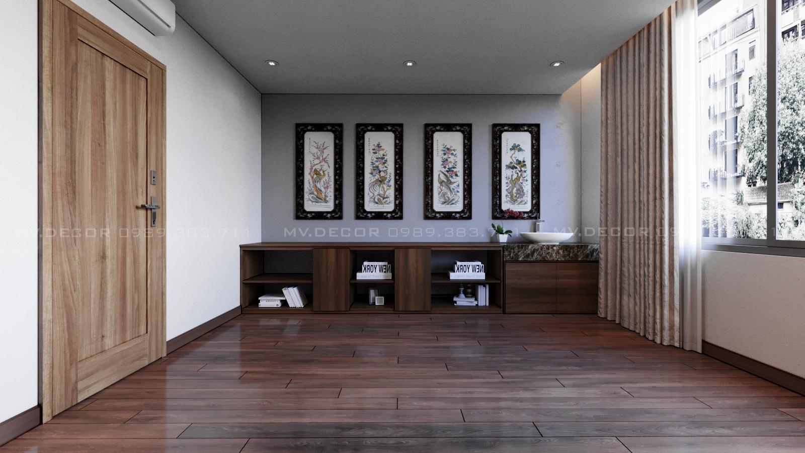 thiết kế nội thất Nhà Mặt Phố tại Hà Nội NHÀ Ở GIA ĐÌNH HÀO NAM 34 1562719643