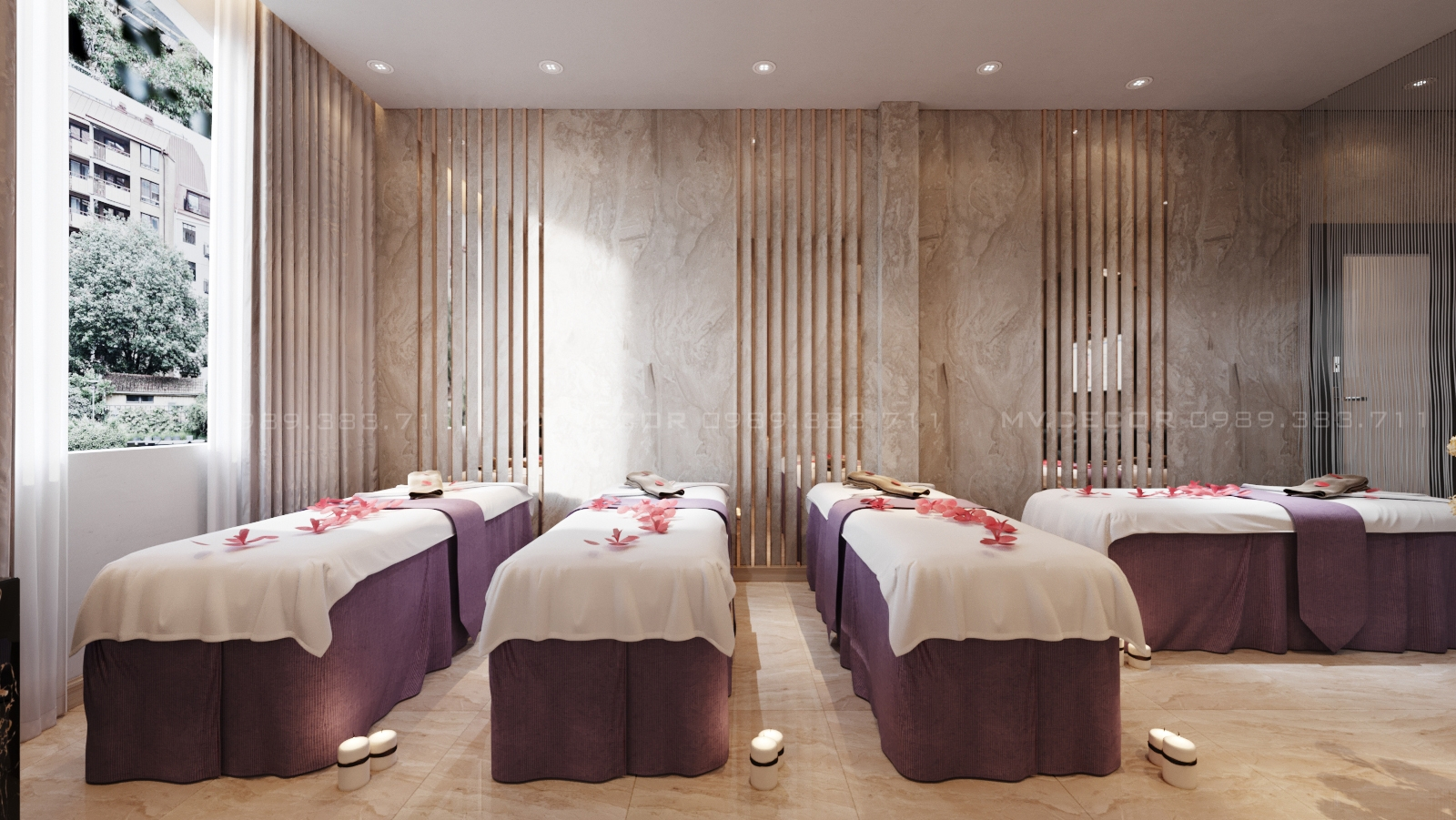 thiết kế nội thất Spa tại Hồ Chí Minh CHI NHÁNH MI HƯƠNG SPA HỒ CHÍ MINH 12 1562719799