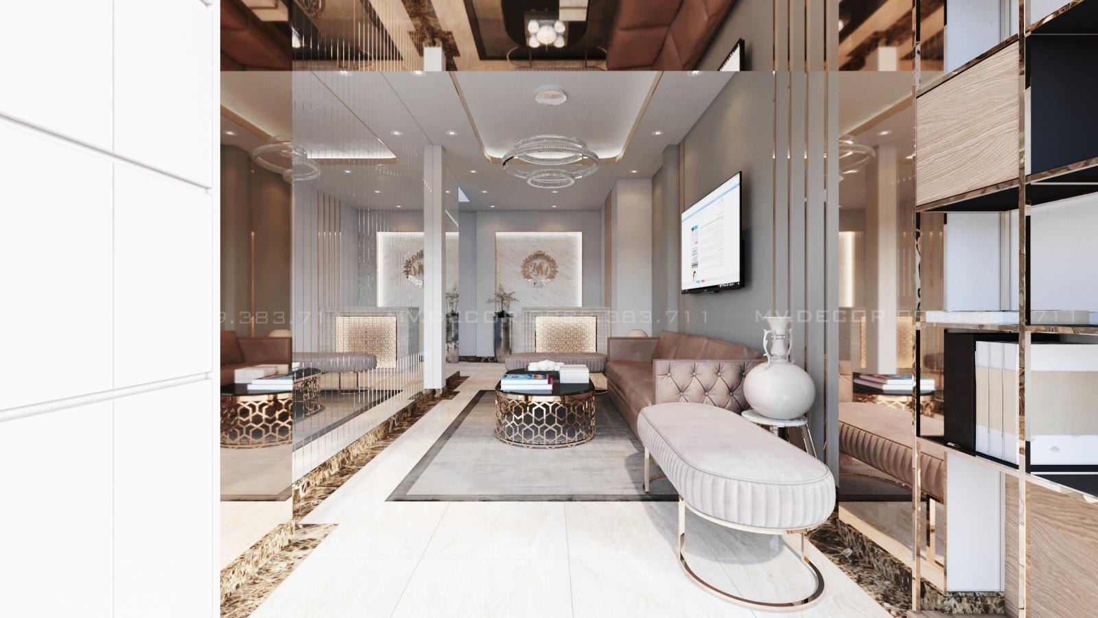 thiết kế nội thất Spa tại Hồ Chí Minh CHI NHÁNH MI HƯƠNG SPA HỒ CHÍ MINH 13 1562719799