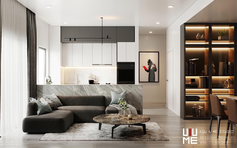 thiết kế nội thất chung cư tại Hà Nội 90 Nguyễn Tuân 0 1566362692
