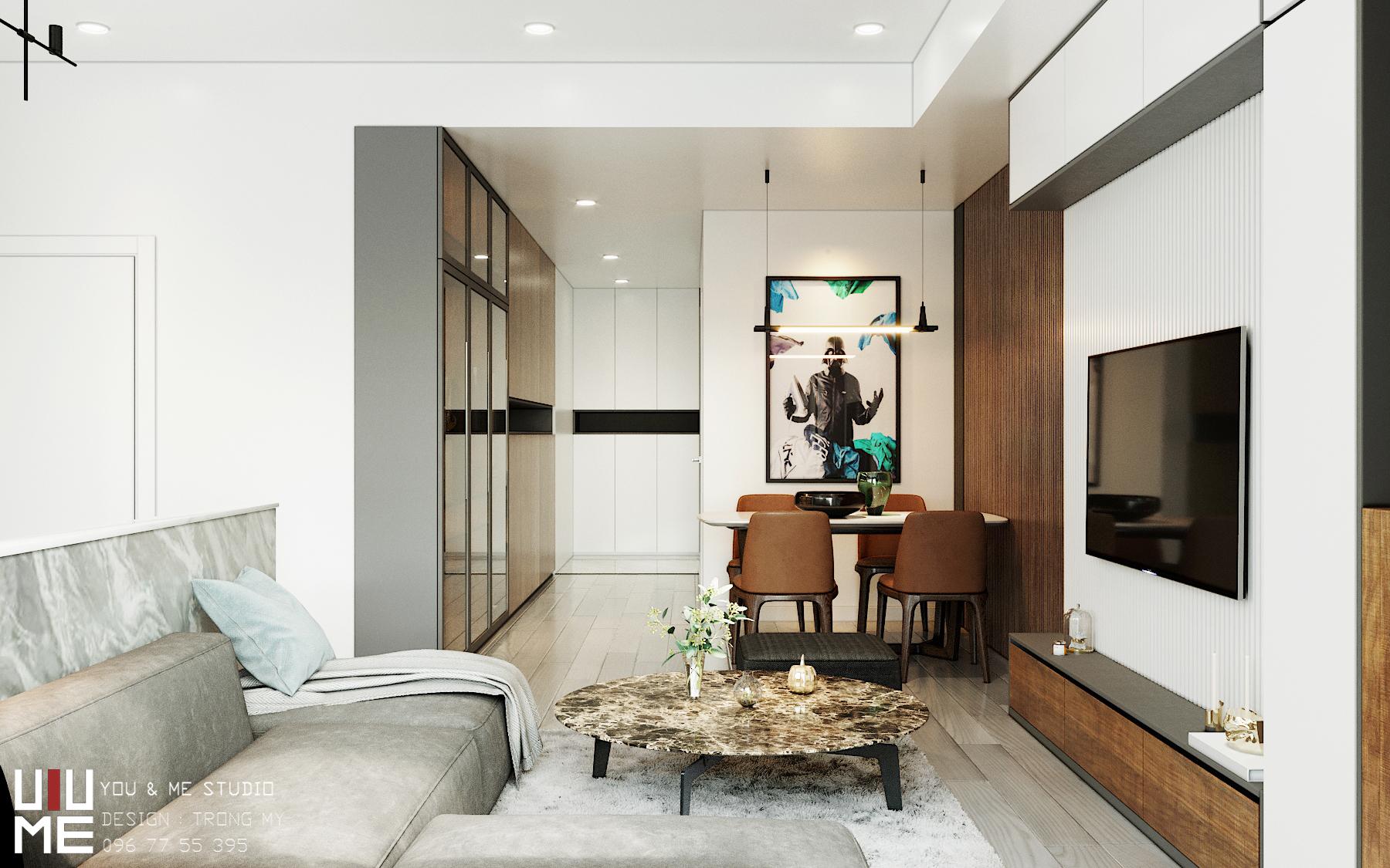 thiết kế nội thất chung cư tại Hà Nội 90 Nguyễn Tuân 4 1566362692