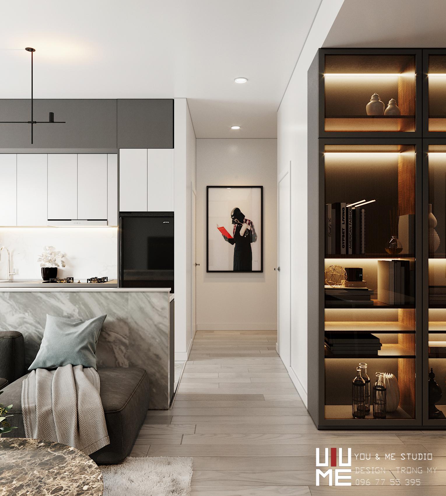 thiết kế nội thất chung cư tại Hà Nội 90 Nguyễn Tuân 7 1566362696