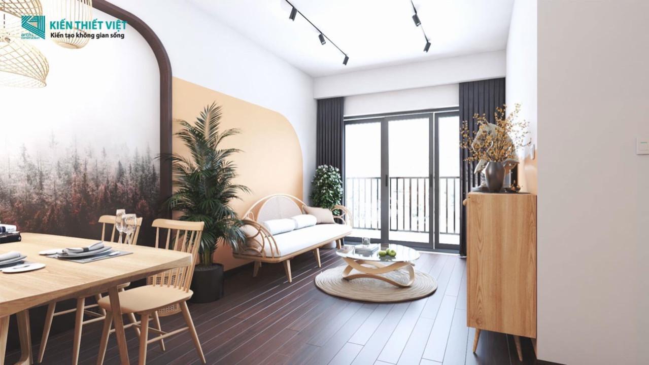 Thiết kế nội thất Chung Cư tại Hồ Chí Minh Sài Gòn  South Resdences 1588562396 4