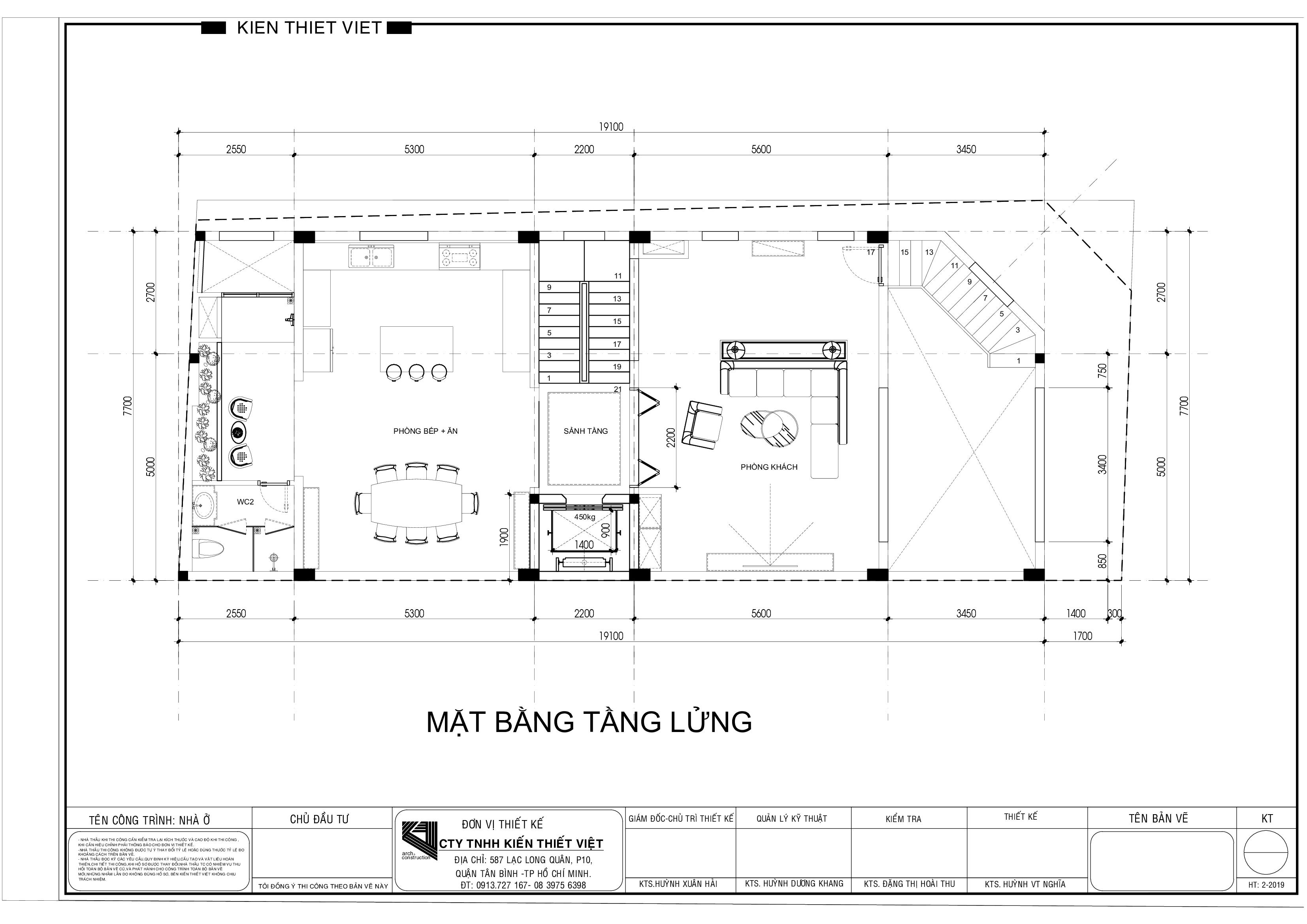 Thiết kế nội thất Nhà Mặt Phố tại Hồ Chí Minh Nhà phố Vườn Lài Tân Phú 1593399392 11