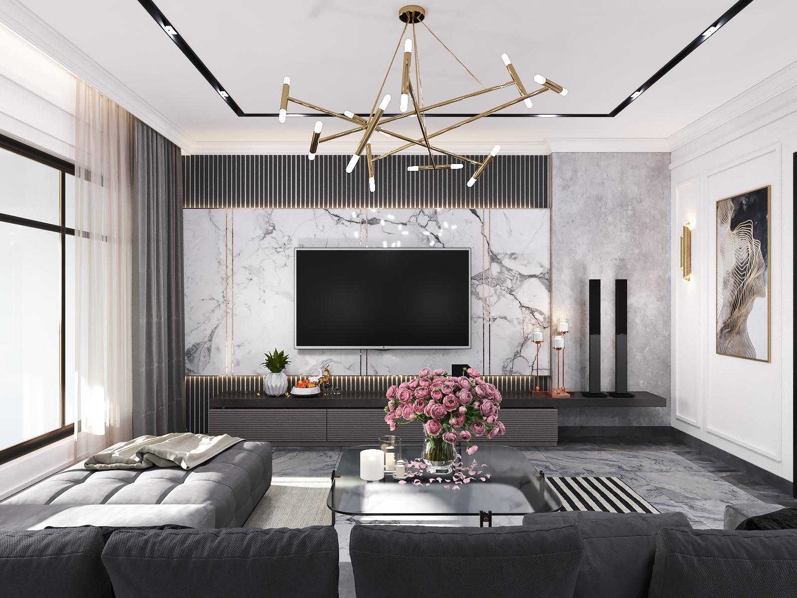 Thiết kế nội thất Nhà Mặt Phố tại Hồ Chí Minh Nhà phố Vườn Lài Tân Phú 1593399392 13