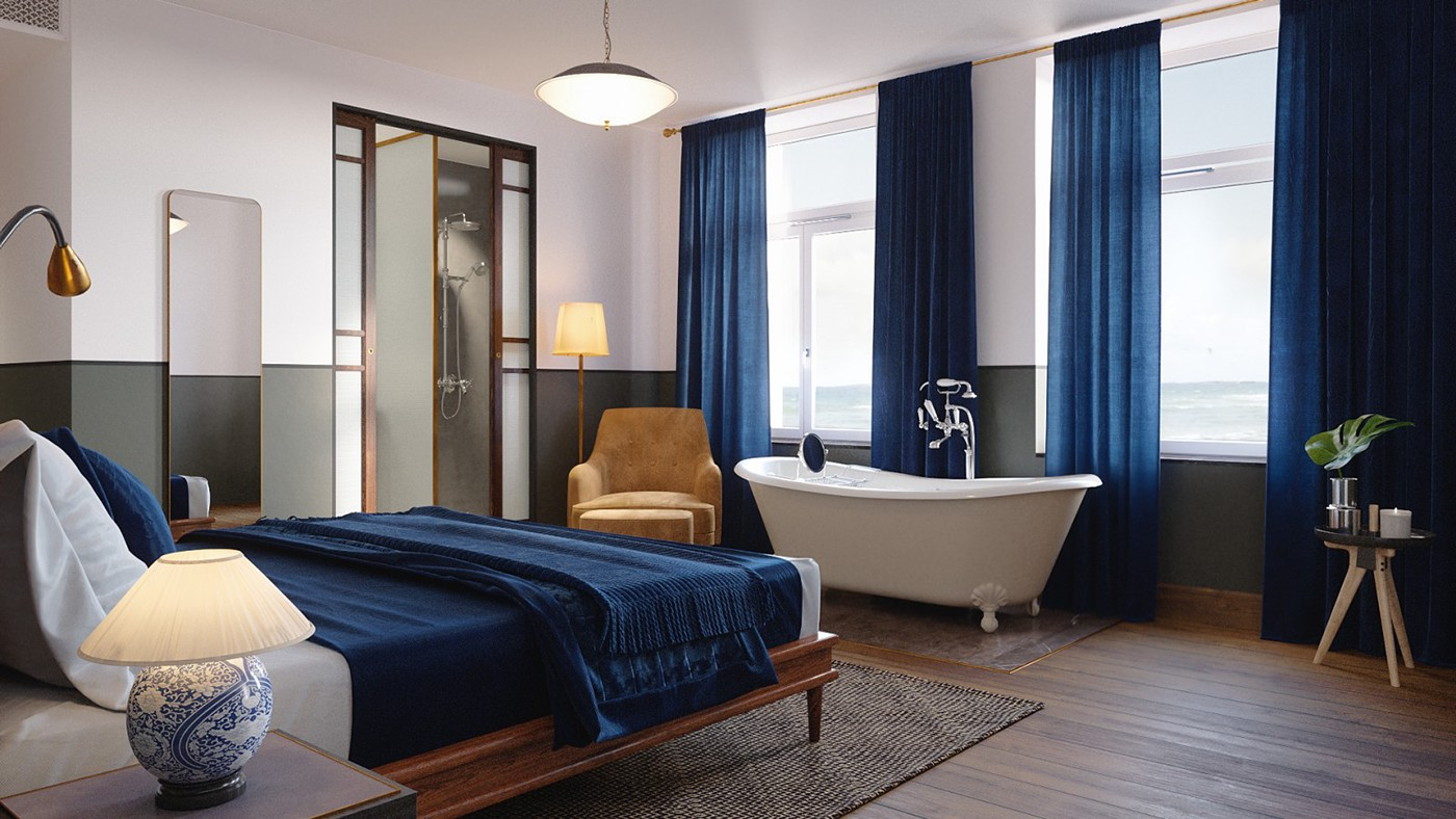 thiết kế Nội thất Chung Cư Sanders Hotel - Bedroom94