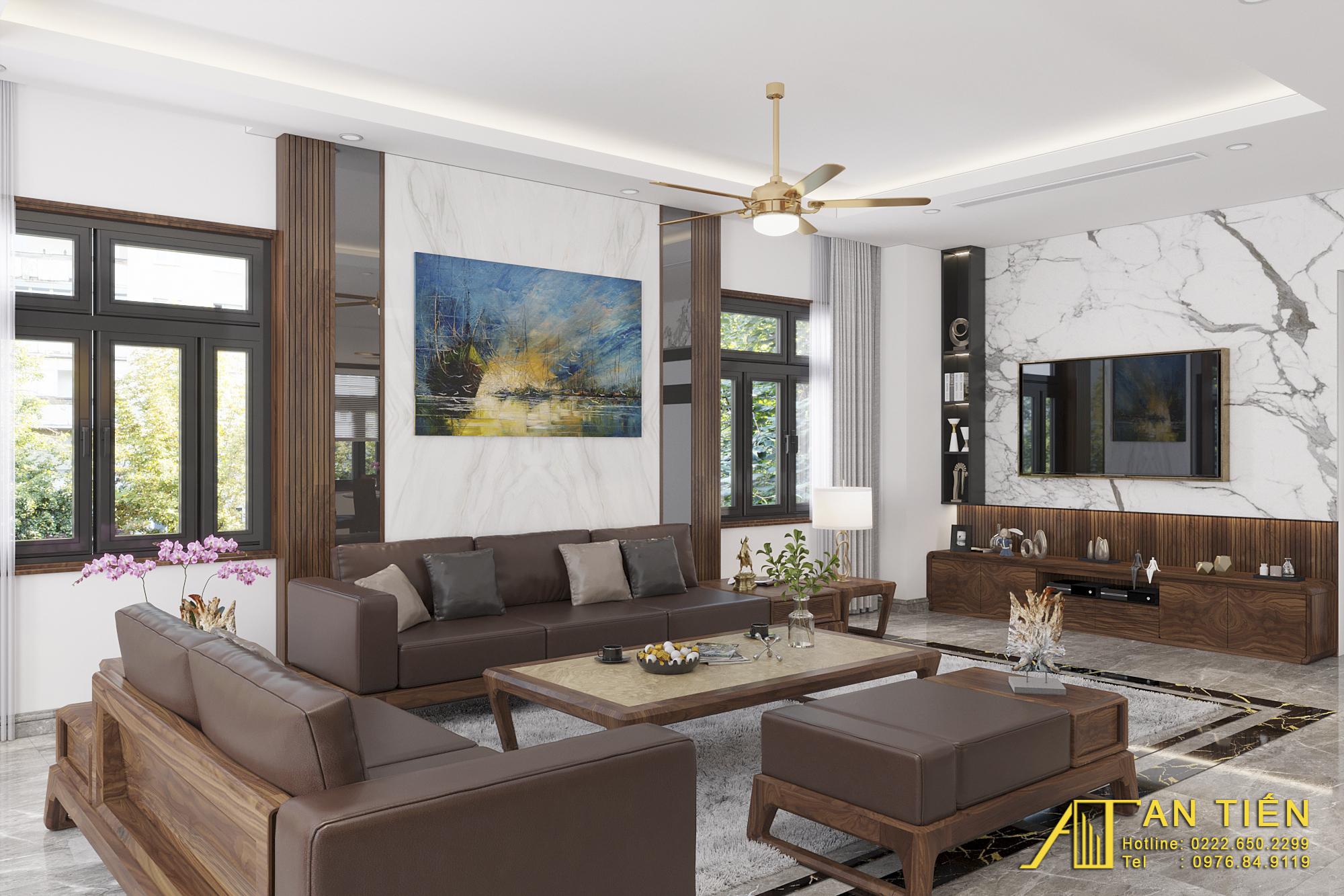 Thiết kế nội thất Biệt Thự tại Bắc Ninh Biệt thự phong cách đồng gia 1625737878 0