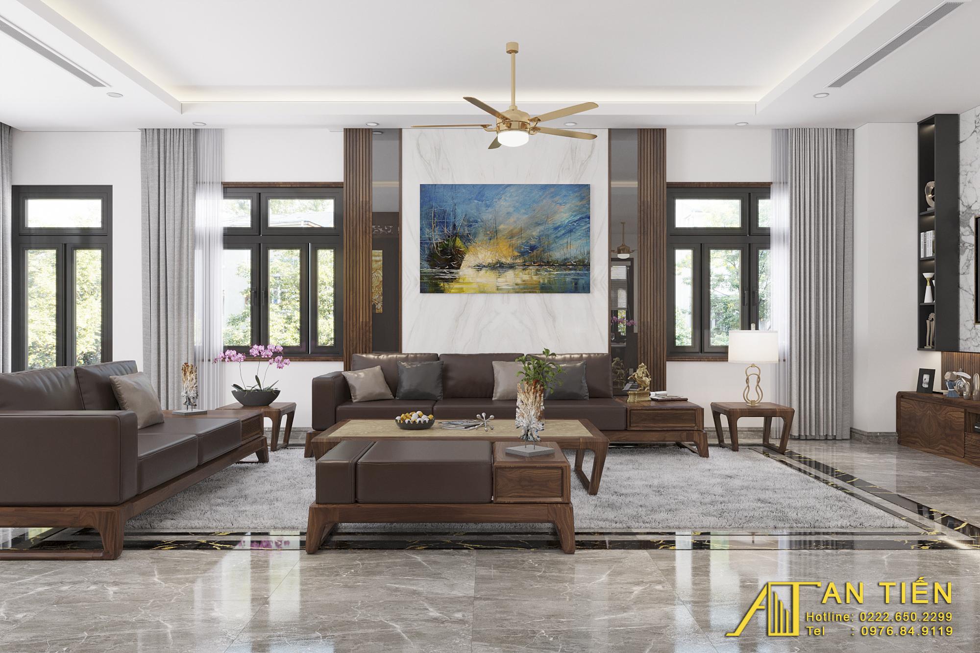 Thiết kế nội thất Biệt Thự tại Bắc Ninh Biệt thự phong cách đồng gia 1625737879 1