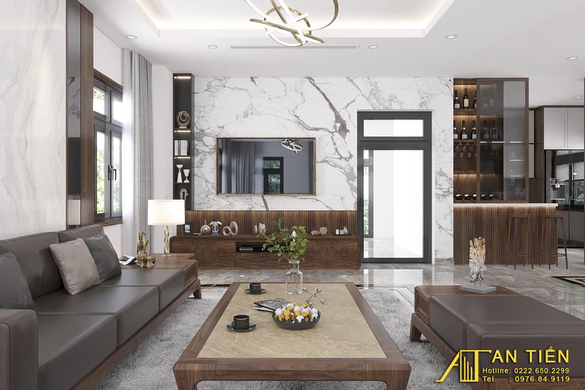 Thiết kế nội thất Biệt Thự tại Bắc Ninh Biệt thự phong cách đồng gia 1625737879 2
