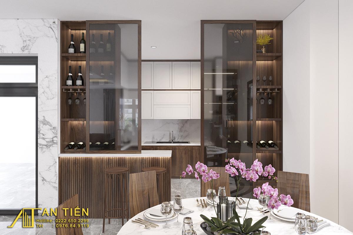 Thiết kế nội thất Biệt Thự tại Bắc Ninh Biệt thự phong cách đồng gia 1625737880 6