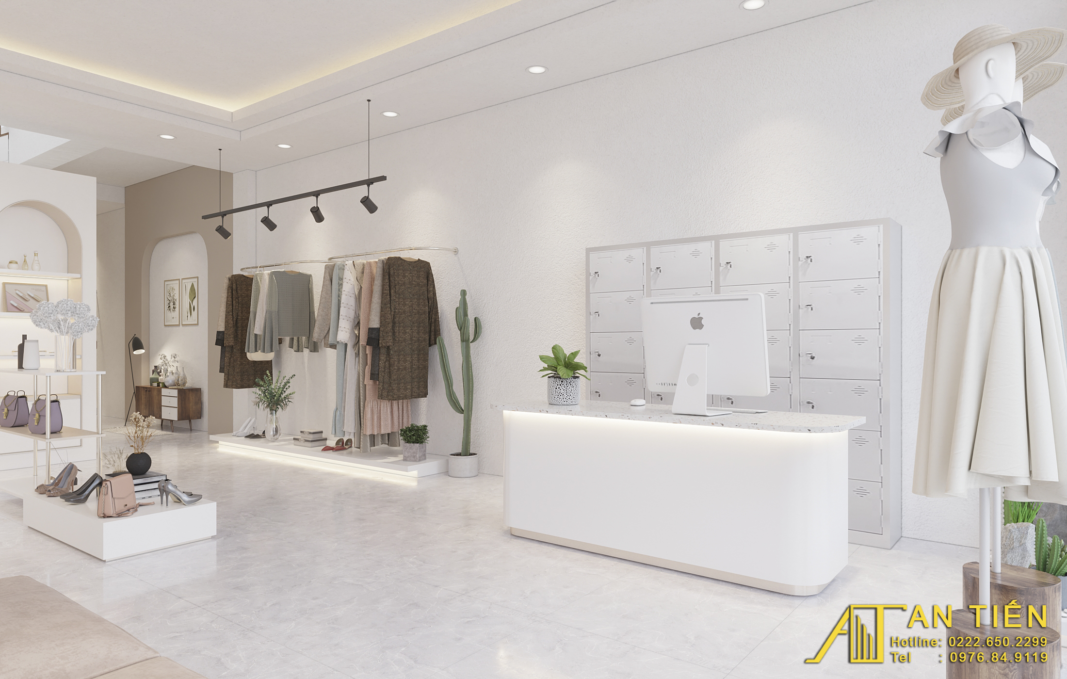 Thiết kế nội thất Shop tại Bắc Ninh Shop quần áo Bắc Ninh 1634097308 0