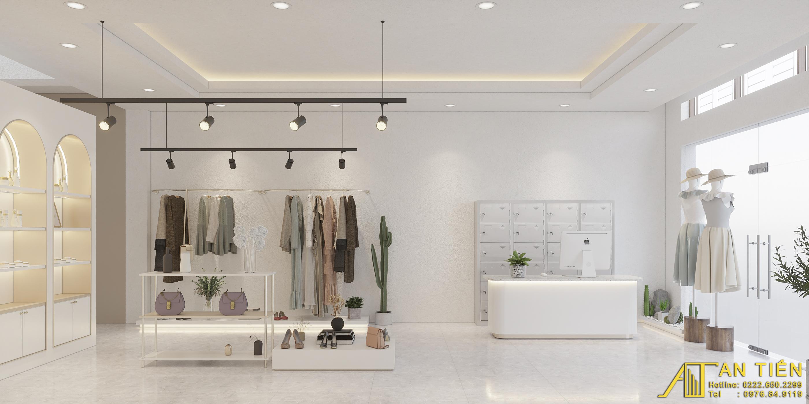 Thiết kế nội thất Shop tại Bắc Ninh Shop quần áo Bắc Ninh 1634097310 2