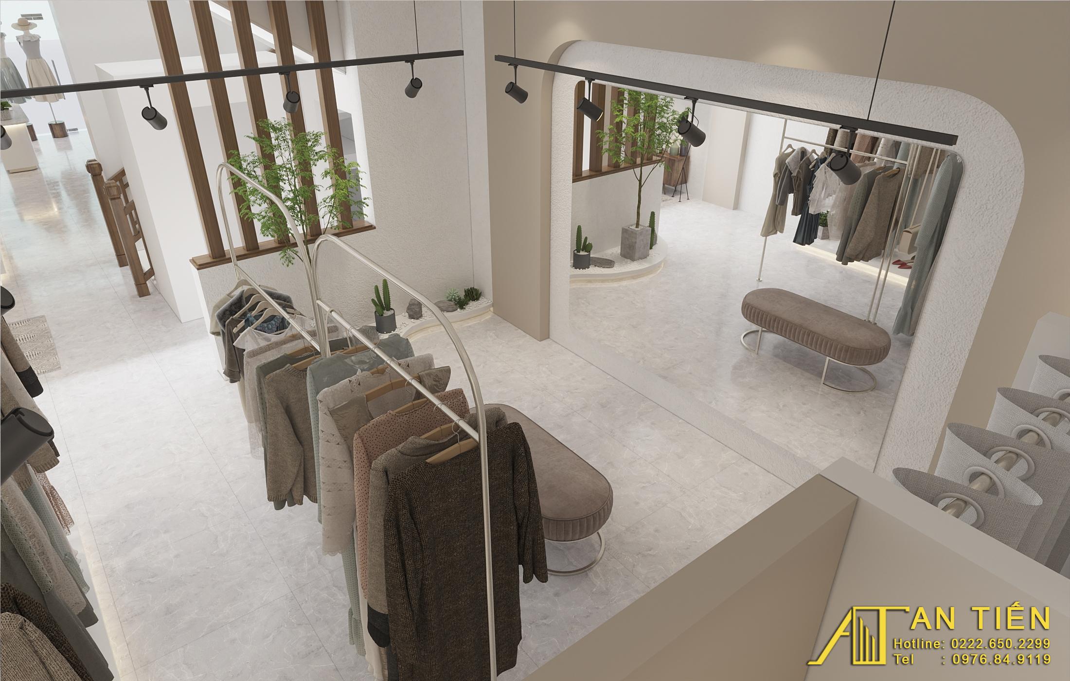 Thiết kế nội thất Shop tại Bắc Ninh Shop quần áo Bắc Ninh 1634097311 6