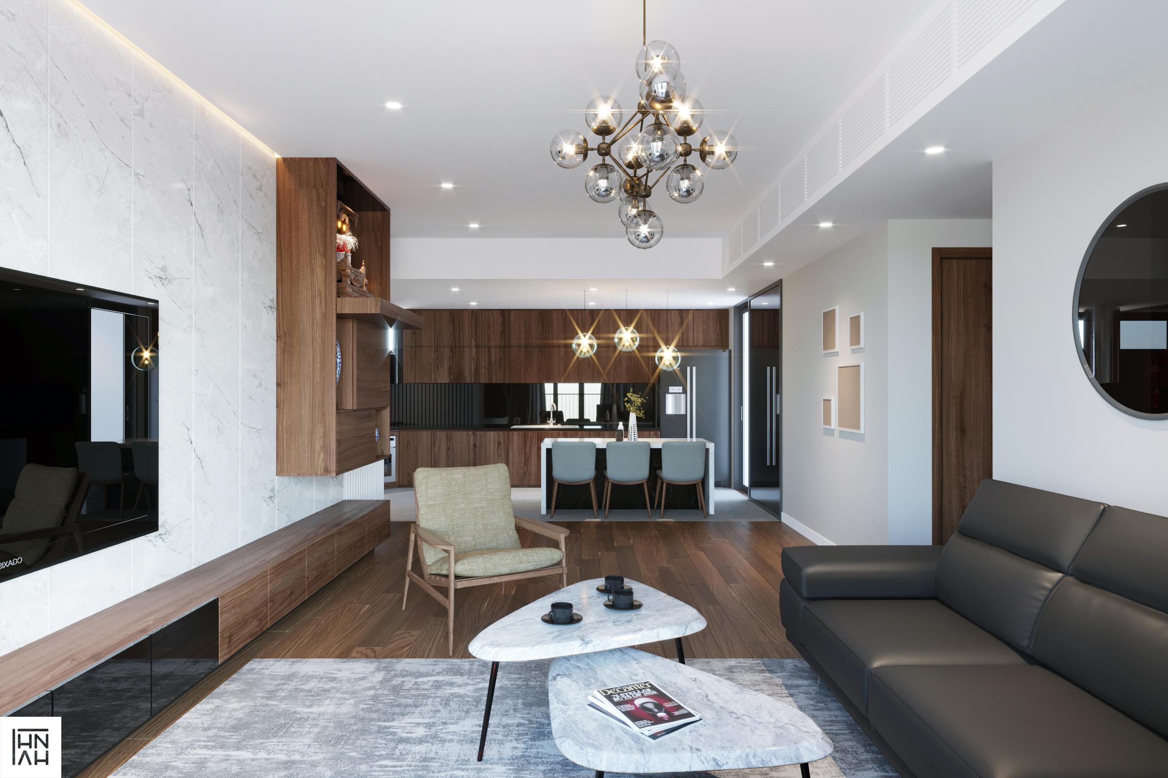 thiết kế nội thất chung cư tại Hà Nội Cuc. Apartment 2 1566896397