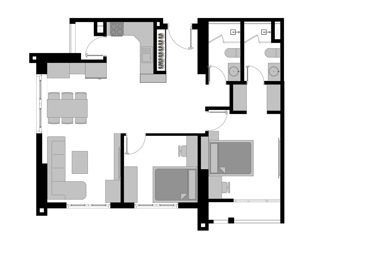 thiết kế nội thất chung cư tại Hà Nội An Bình Apartment 9 1566897074