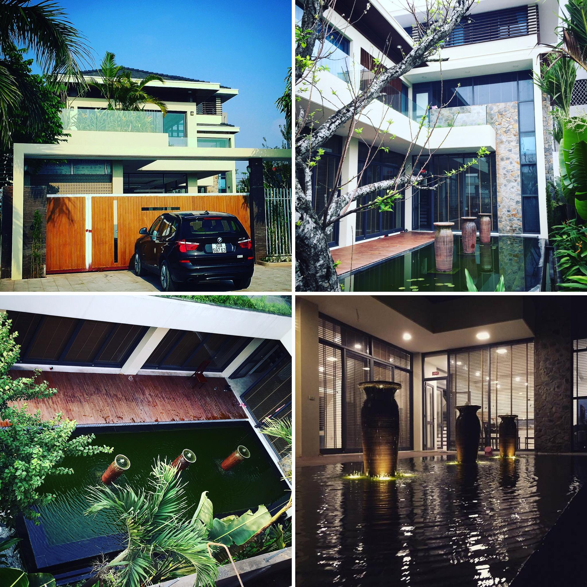 thiết kế Biệt Thự 3 tầng tại Bắc Ninh T VILLA 1 1562170234