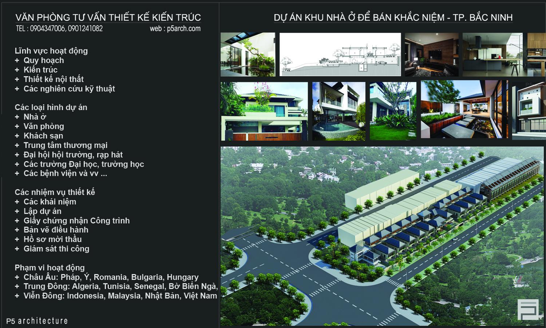 thiết kế Biệt Thự 3 tầng tại Bắc Ninh T VILLA 6 1562170237