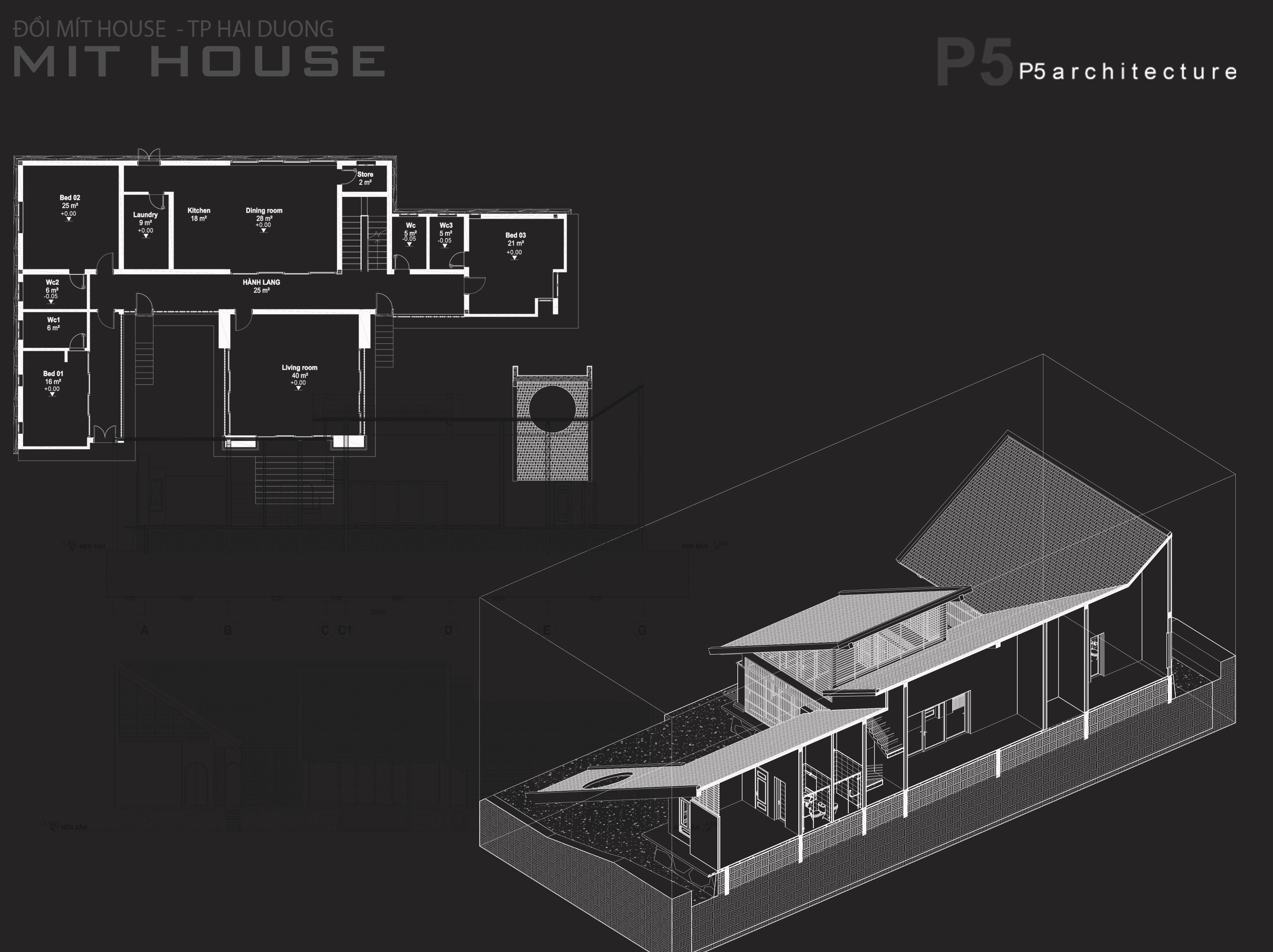 Thiết kế Nhà tại Hải Dương MIT HOUSE 1592840190 5