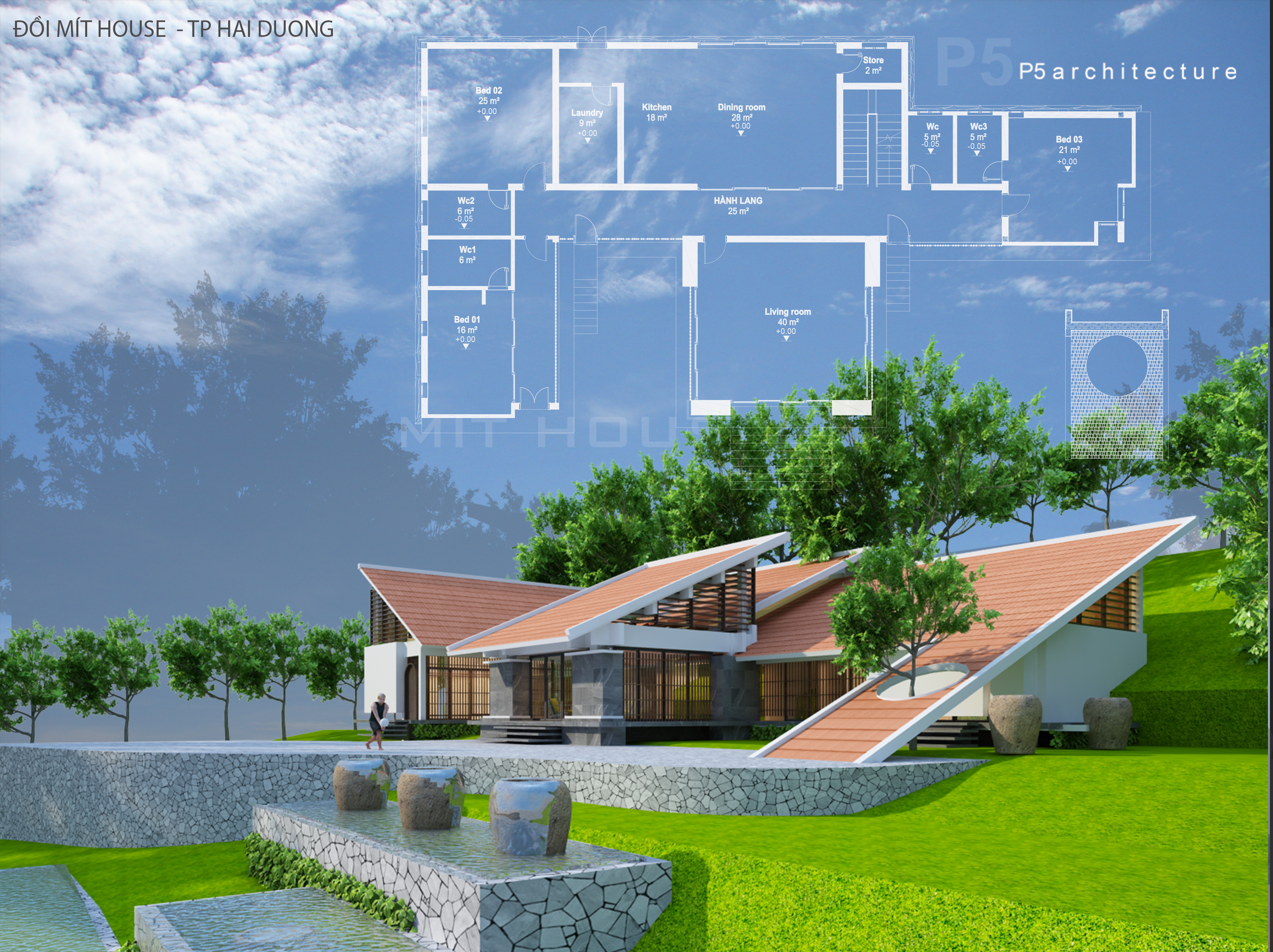 Thiết kế Nhà tại Hải Dương MIT HOUSE 1592840191 4