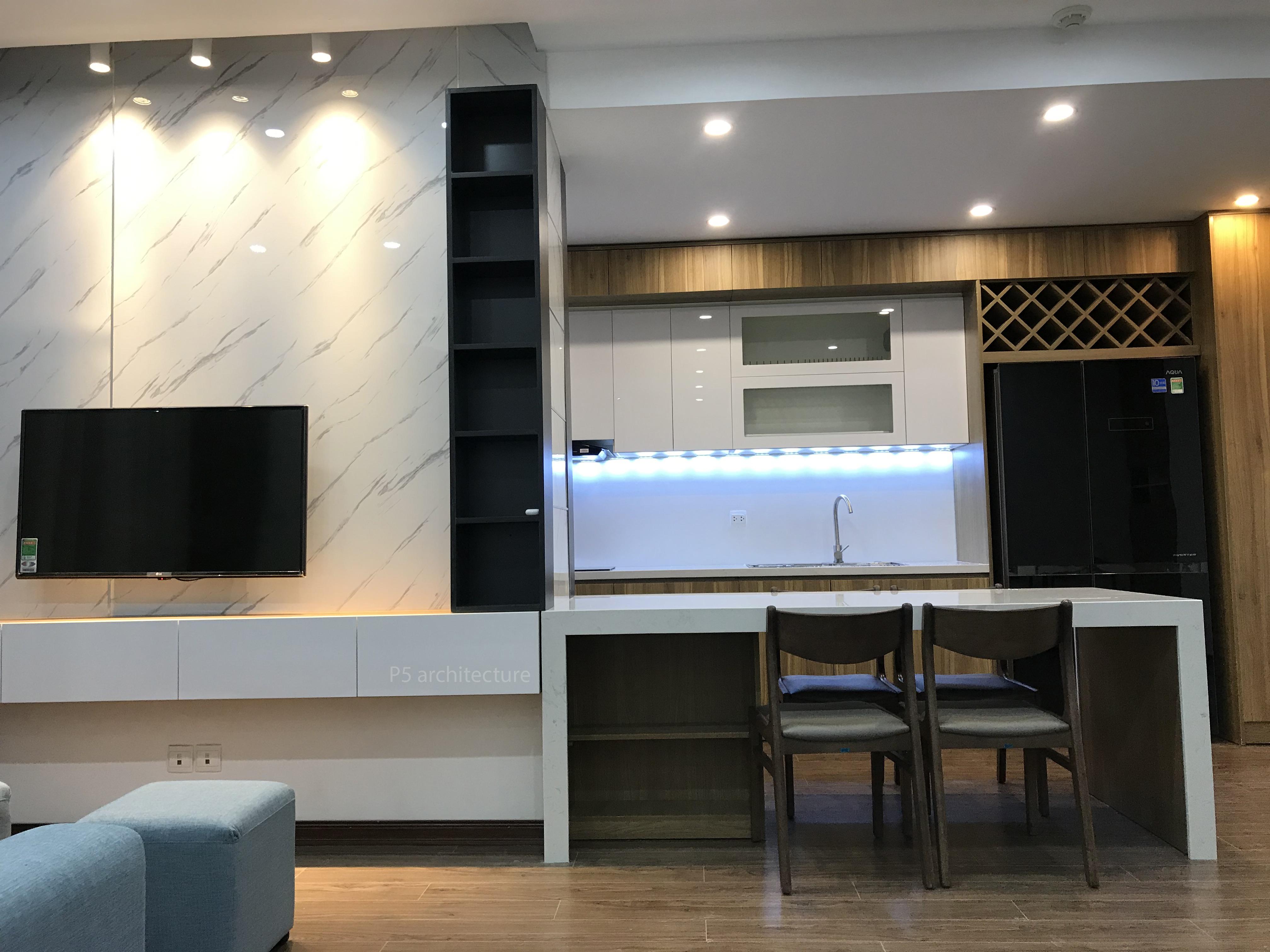 thiết kế nội thất chung cư tại Hà Nội Nội thất D'Capitale 1 1562756698