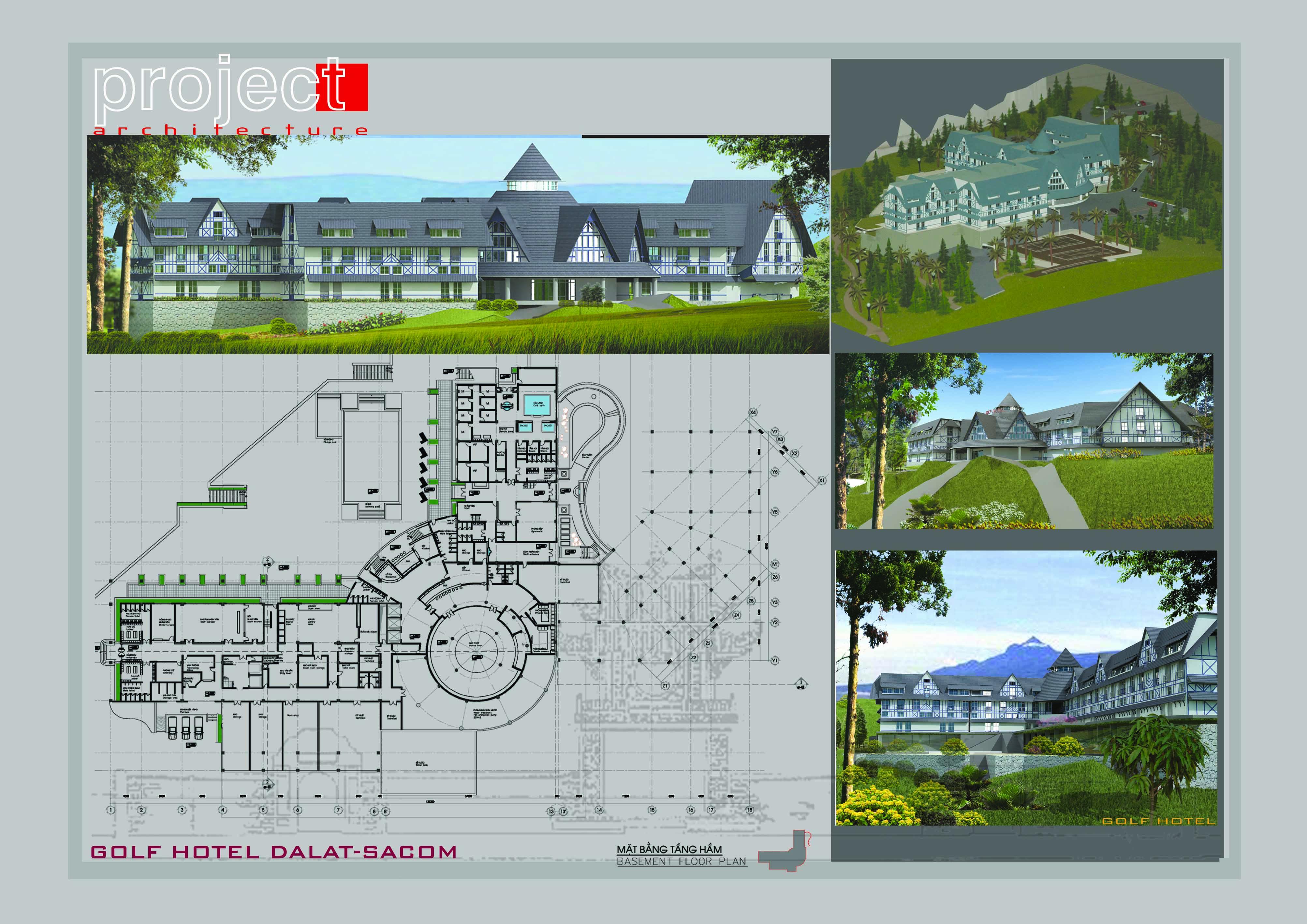 Thiết kế nội thất Chung Cư tại Hà Nội Golf Hotel 1588776119 1