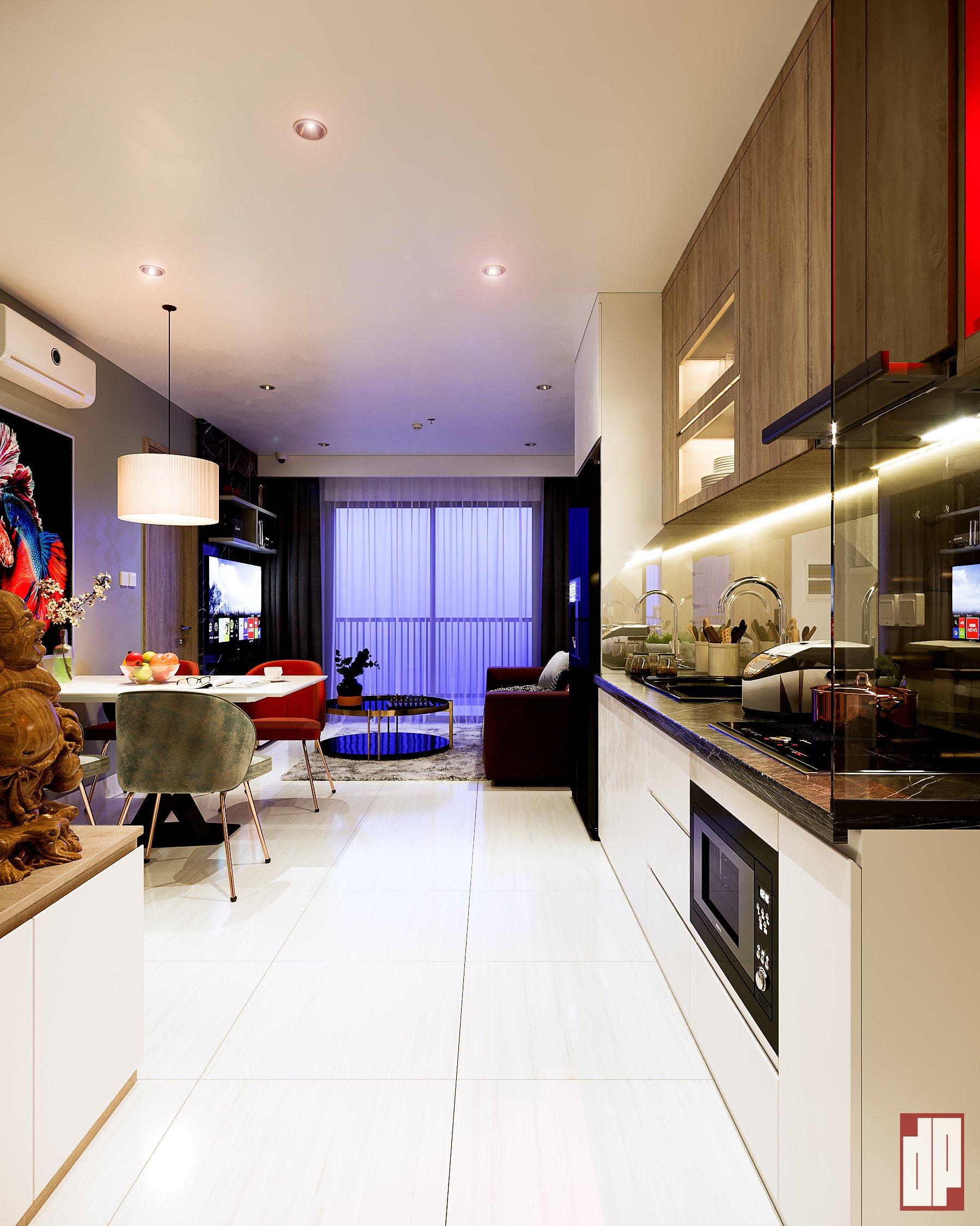 Thiết kế nội thất Chung Cư tại Hồ Chí Minh CHUNG CU VINHOME CENTRAL PARK-Q9 1630423857 0