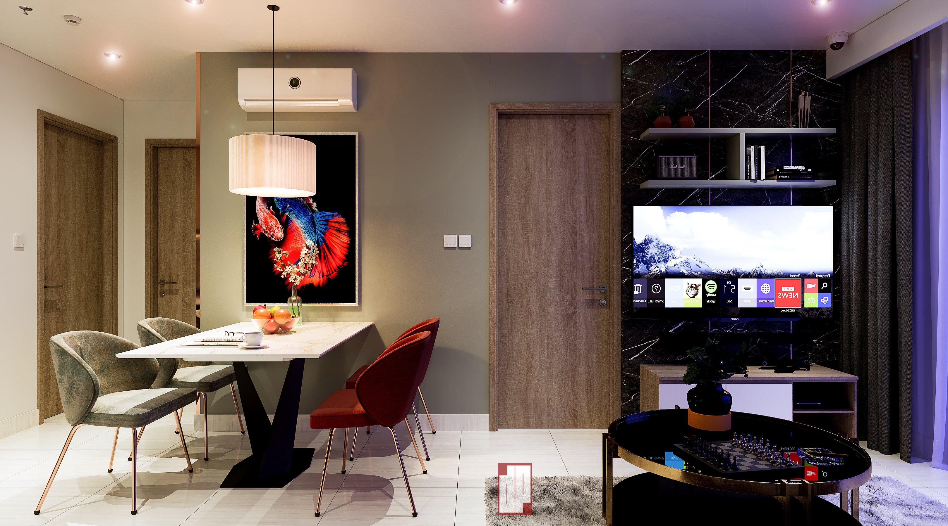 Thiết kế nội thất Chung Cư tại Hồ Chí Minh CHUNG CU VINHOME CENTRAL PARK-Q9 1630423857 2