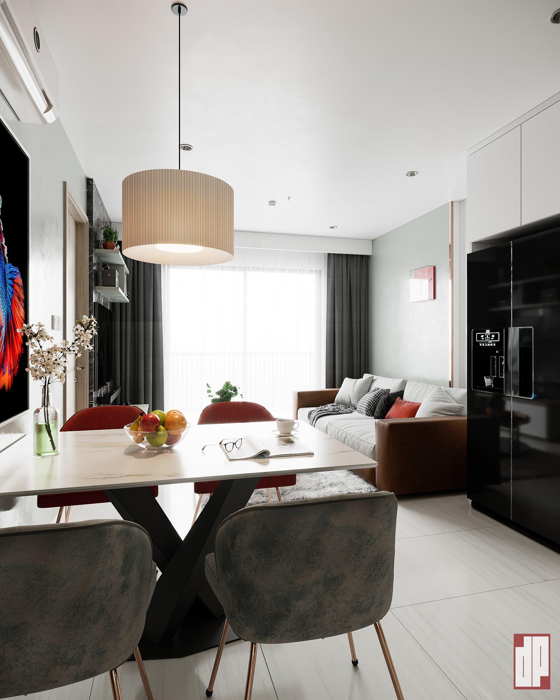 Thiết kế nội thất Chung Cư tại Hồ Chí Minh CHUNG CU VINHOME CENTRAL PARK-Q9 1630423857 6