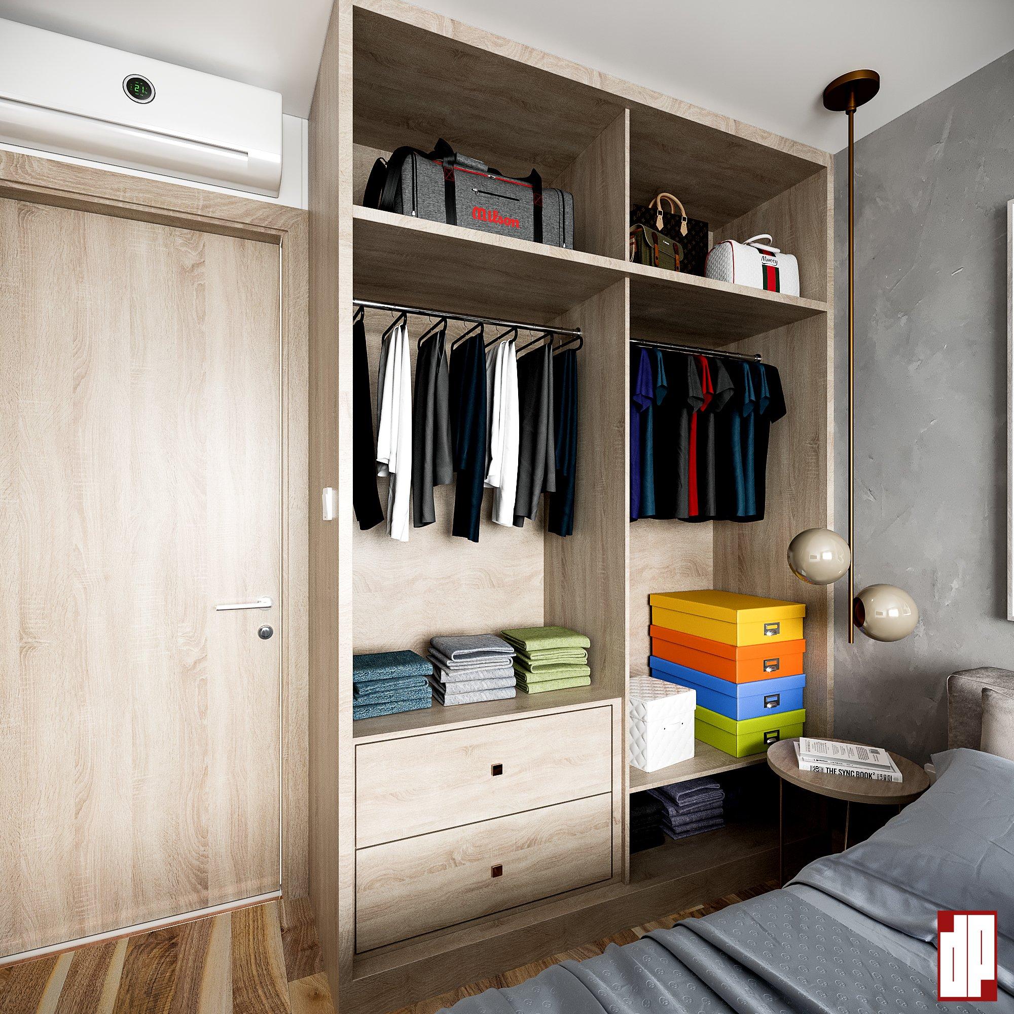 Thiết kế nội thất Chung Cư tại Hồ Chí Minh CHUNG CU VINHOME CENTRAL PARK-Q9_BEDROOM 1630833010 3