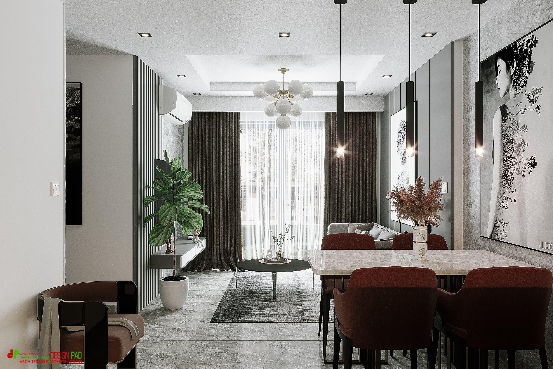 Thiết kế nội thất Chung Cư tại Hồ Chí Minh Vinhome Grand Park Apartment Project 1619407081 2