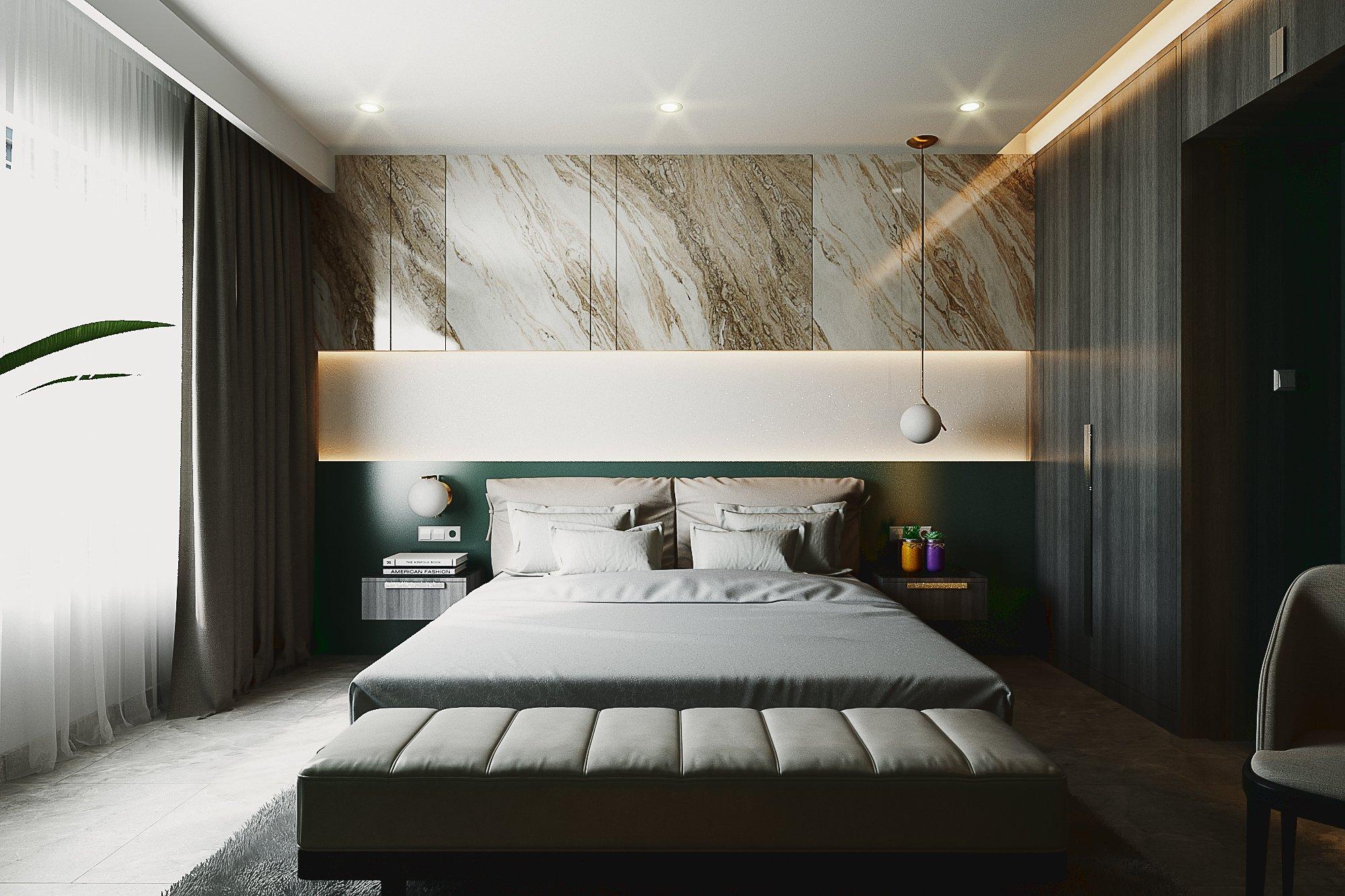 Thiết kế nội thất Nhà Mặt Phố tại Hồ Chí Minh BedRoom - Mr.Huy 1605080087 0