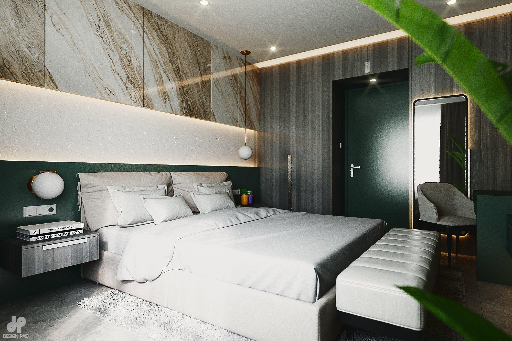 Thiết kế nội thất Nhà Mặt Phố tại Hồ Chí Minh BedRoom - Mr.Huy 1605080087 1