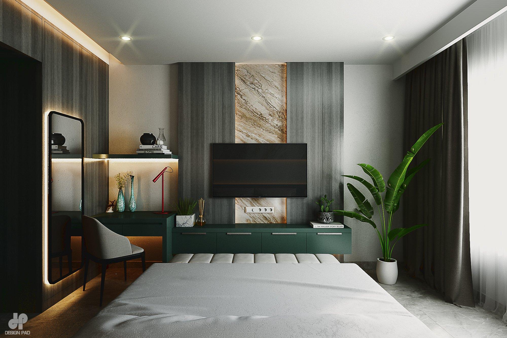 Thiết kế nội thất Nhà Mặt Phố tại Hồ Chí Minh BedRoom - Mr.Huy 1605080088 2