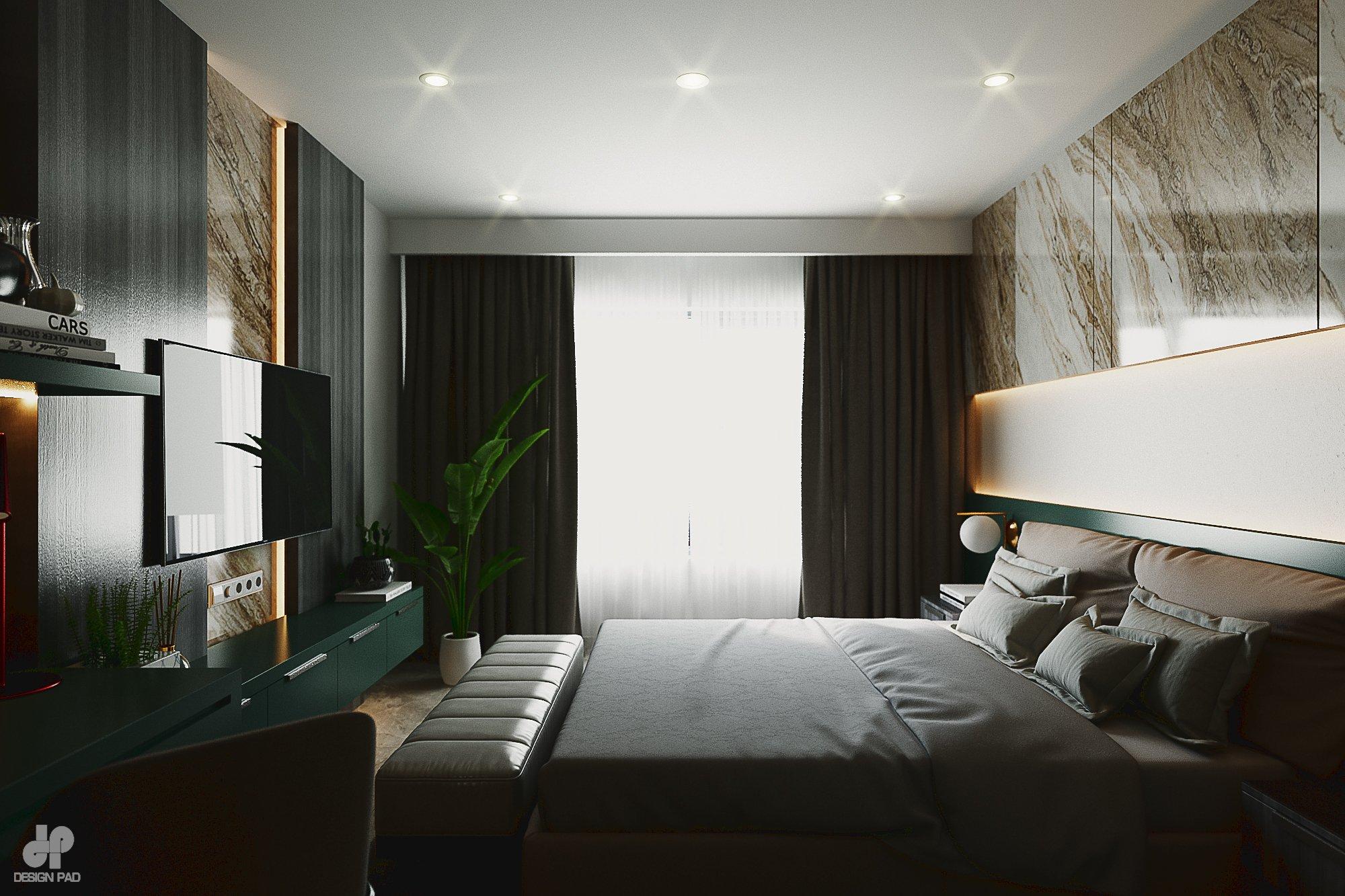Thiết kế nội thất Nhà Mặt Phố tại Hồ Chí Minh BedRoom - Mr.Huy 1605080088 3
