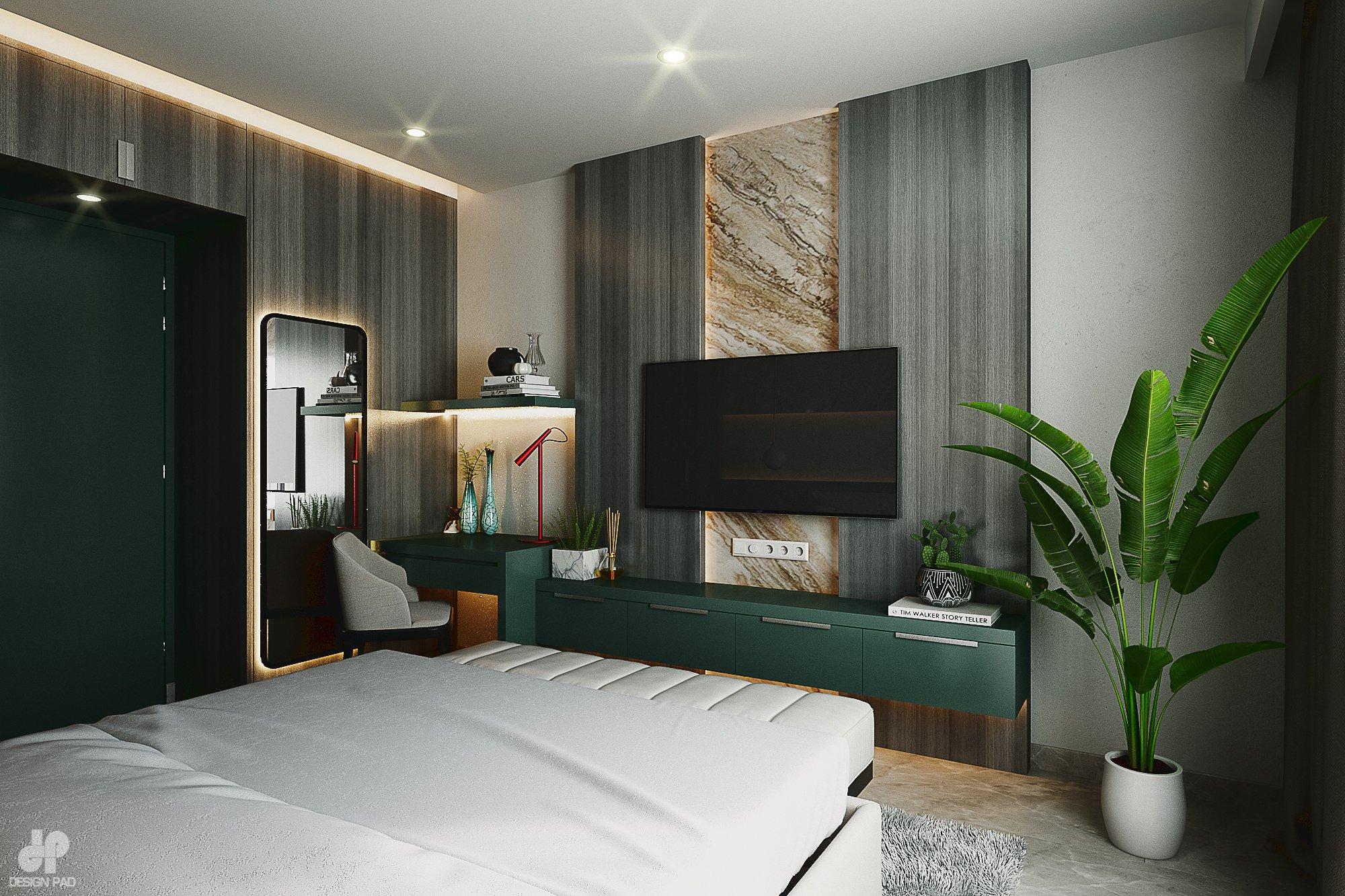 Thiết kế nội thất Nhà Mặt Phố tại Hồ Chí Minh BedRoom - Mr.Huy 1605080088 4