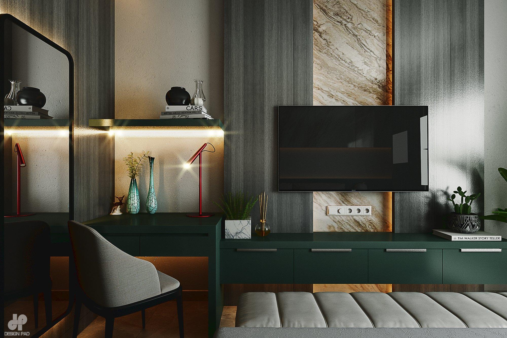 Thiết kế nội thất Nhà Mặt Phố tại Hồ Chí Minh BedRoom - Mr.Huy 1605080088 5
