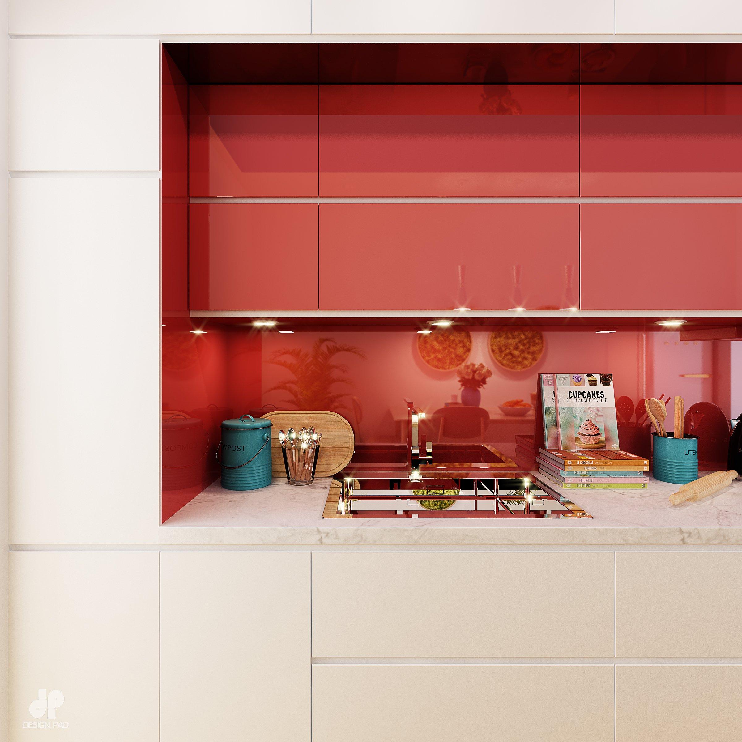 Thiết kế nội thất Nhà tại Hồ Chí Minh KITCHEN_ROOM 1630659233 3