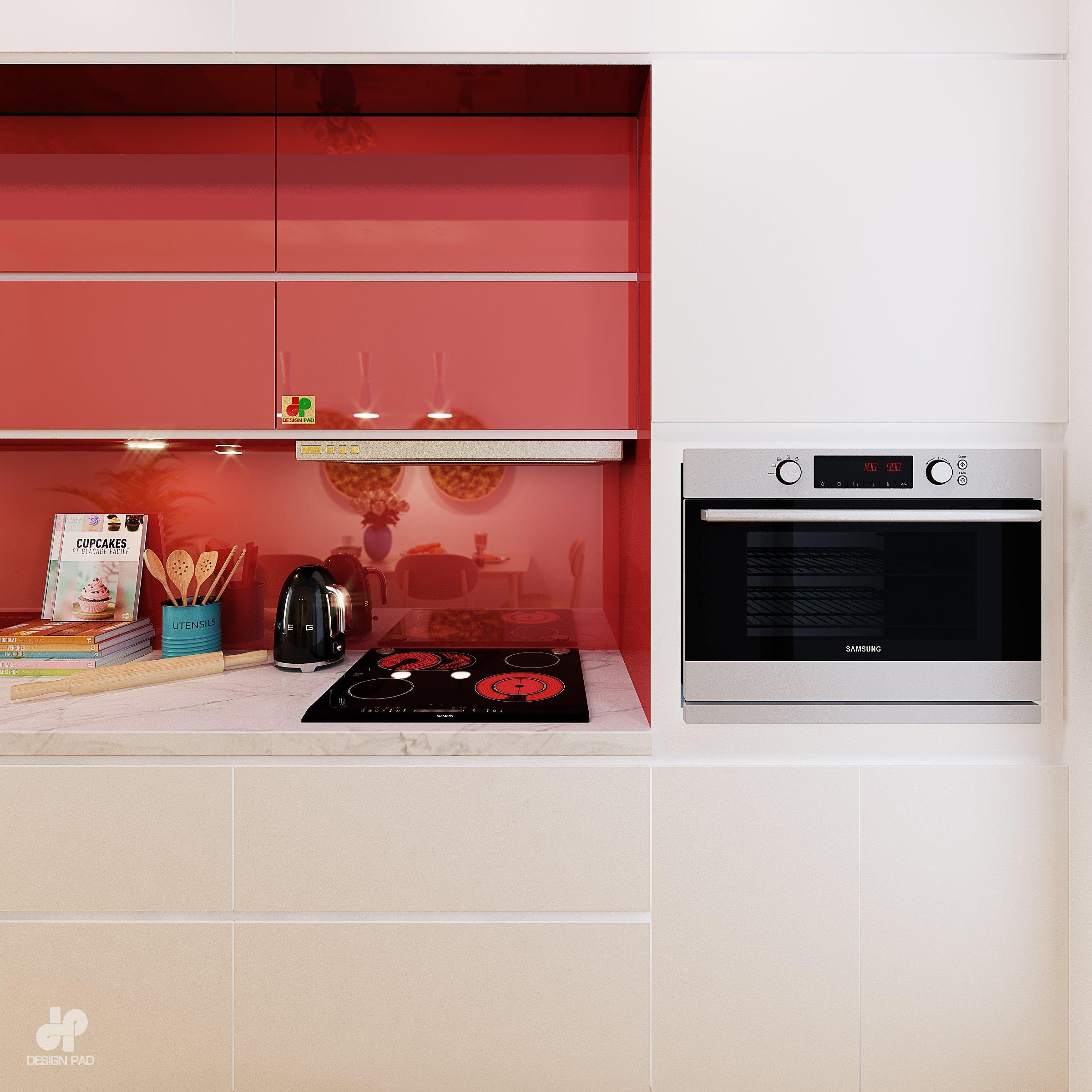Thiết kế nội thất Nhà tại Hồ Chí Minh KITCHEN_ROOM 1630659233 4