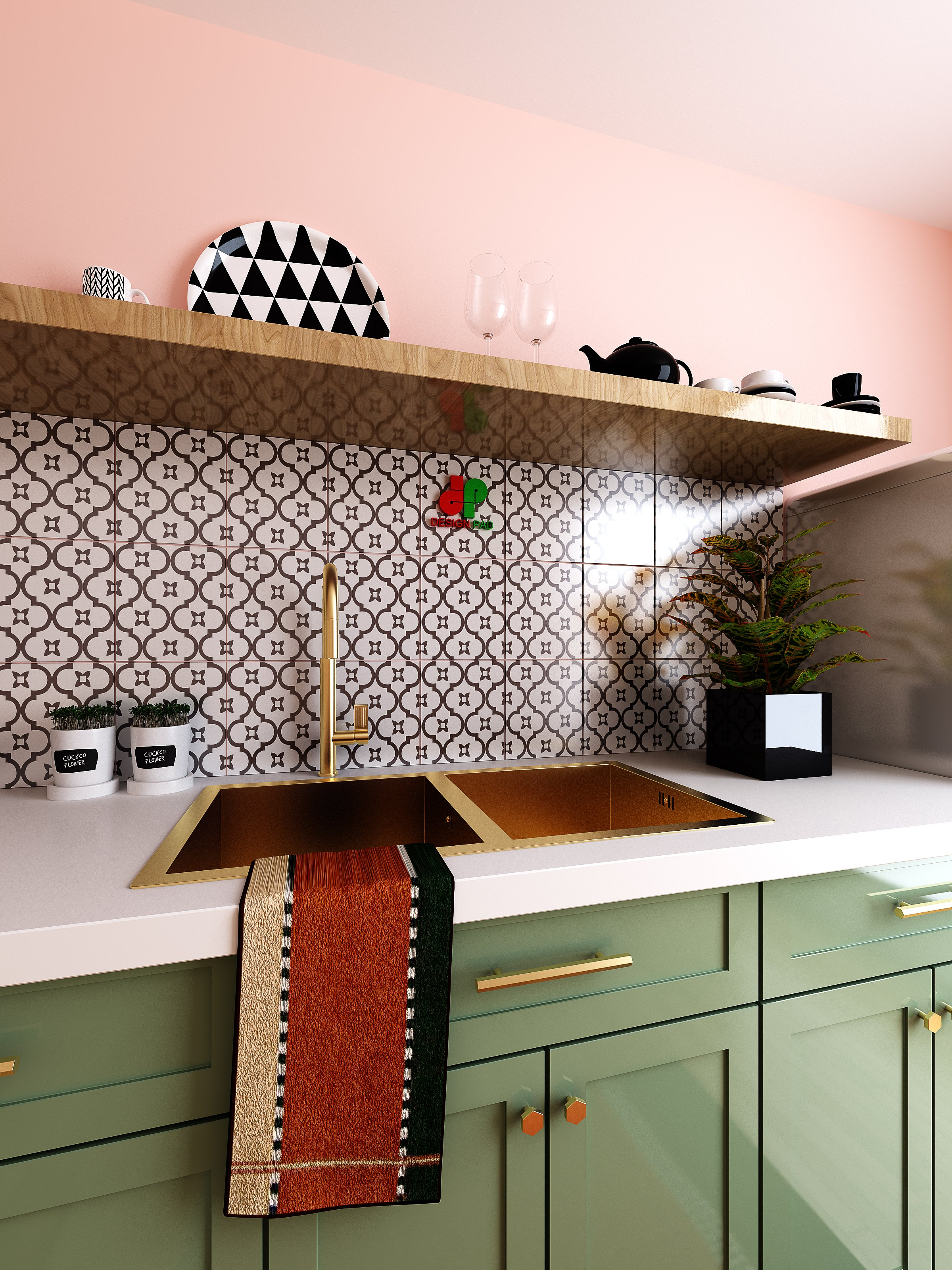 Thiết kế nội thất Nhà tại Hồ Chí Minh KITCHEN_ROOM 1630659508 3