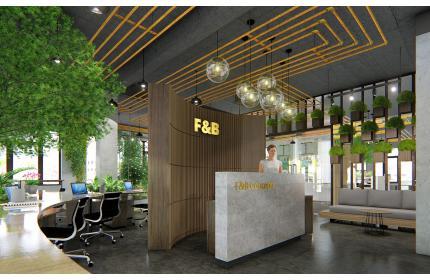 Thiết kệ nội thất văn phòng F&B Concepts