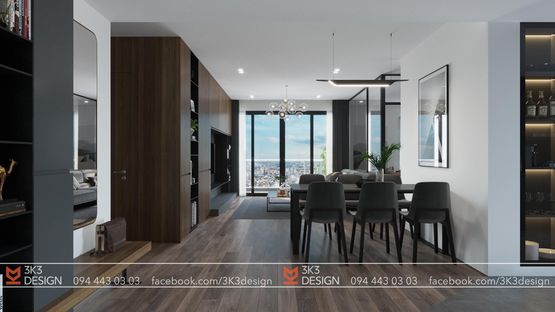 thiết kế nội thất chung cư tại Hà Nội VIMECO APARTMENT 0 1565080498
