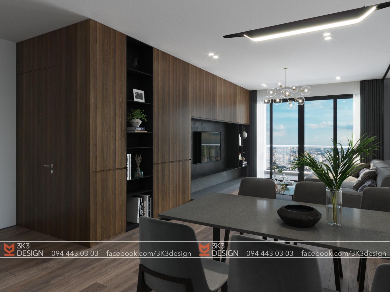 thiết kế nội thất chung cư tại Hà Nội VIMECO APARTMENT 1 1565080499