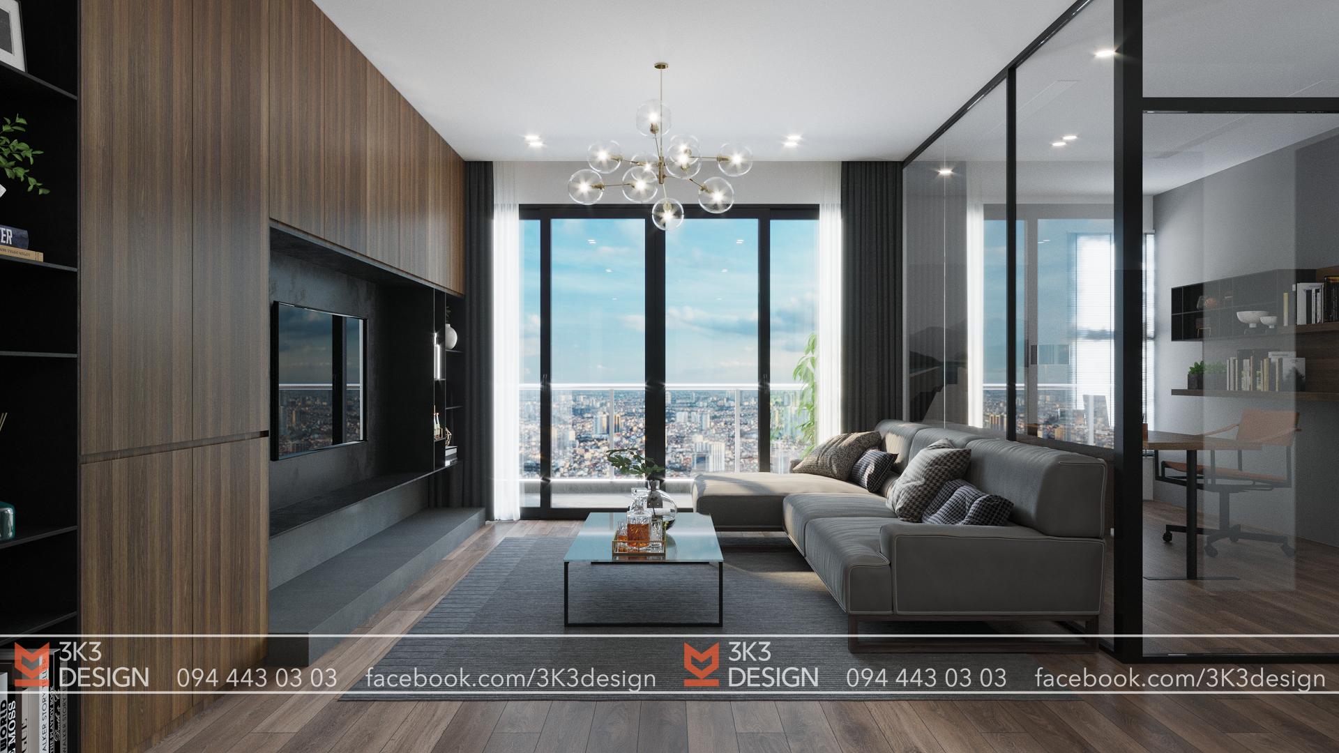 thiết kế nội thất chung cư tại Hà Nội VIMECO APARTMENT 2 1565080499