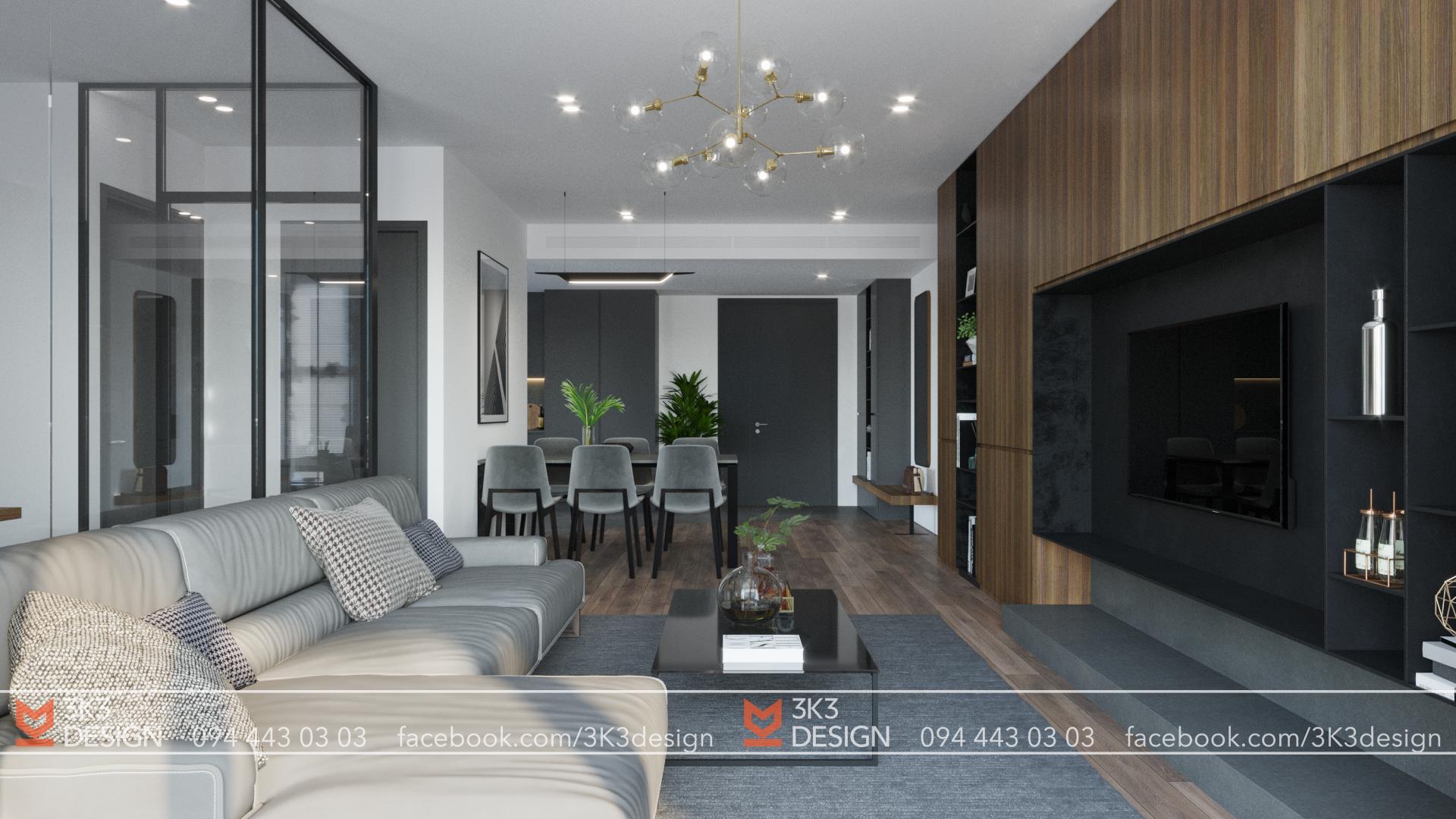 thiết kế nội thất chung cư tại Hà Nội VIMECO APARTMENT 5 1565080499
