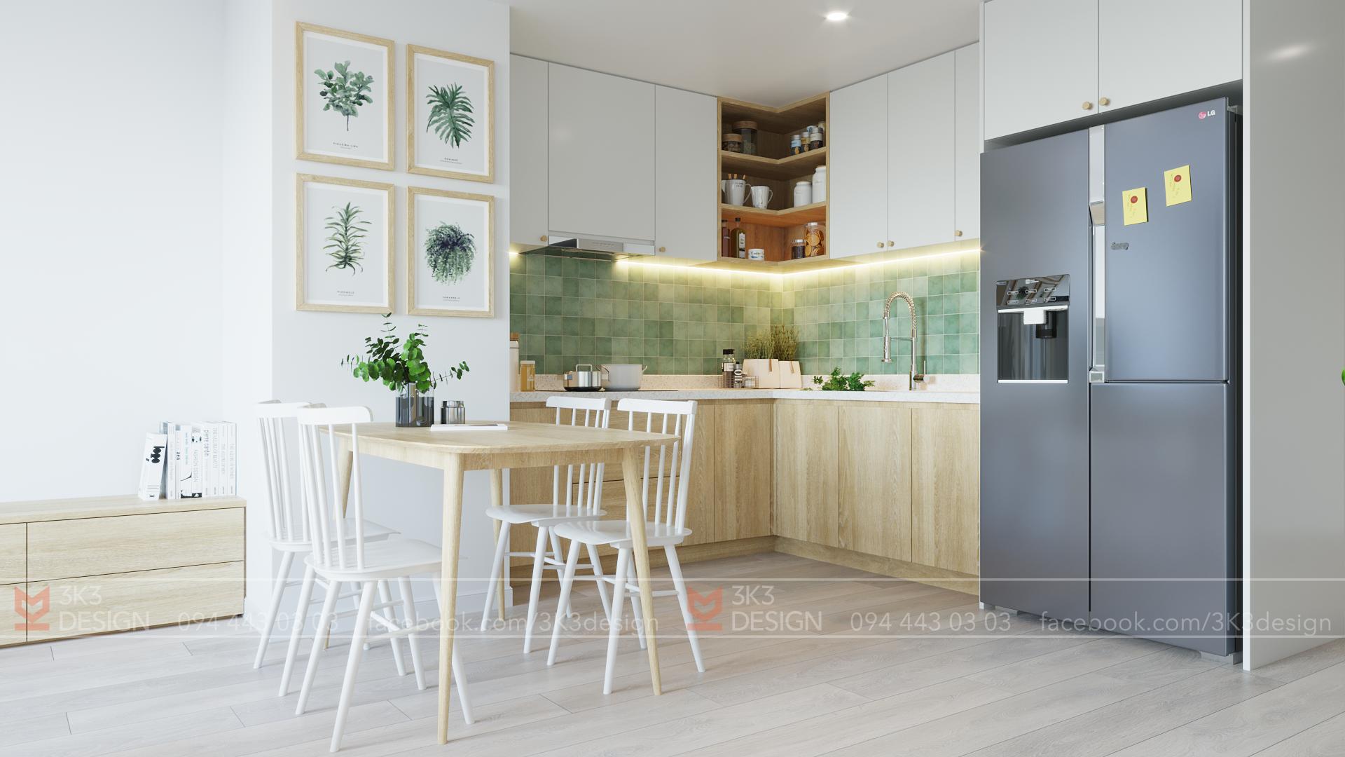 Thiết kế nội thất Chung Cư tại Hà Nội B - APARTMENT 1585495840 2