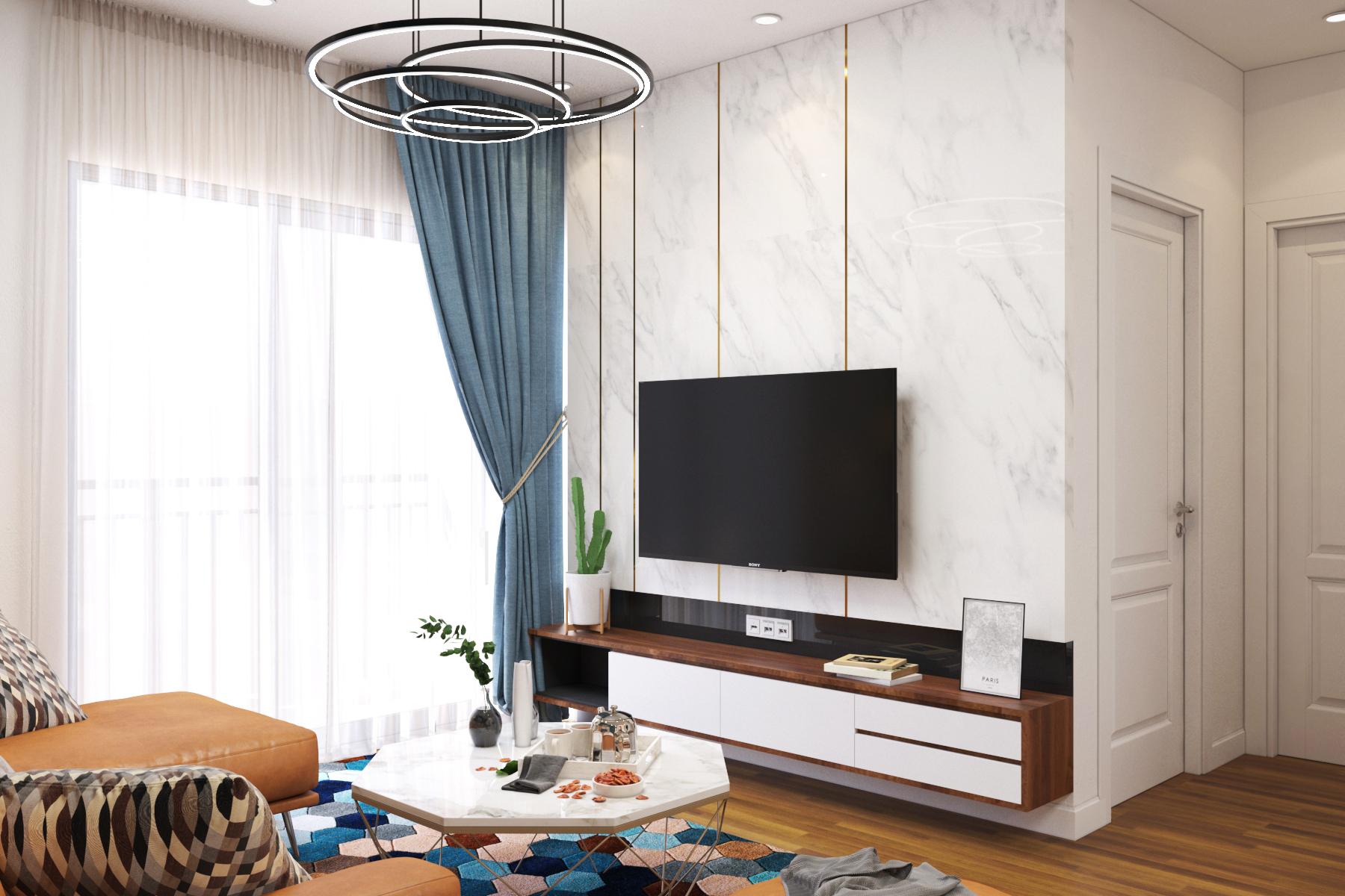 Thiết kế nội thất Chung Cư tại Hồ Chí Minh chung cư chị Tình 1627034867 3