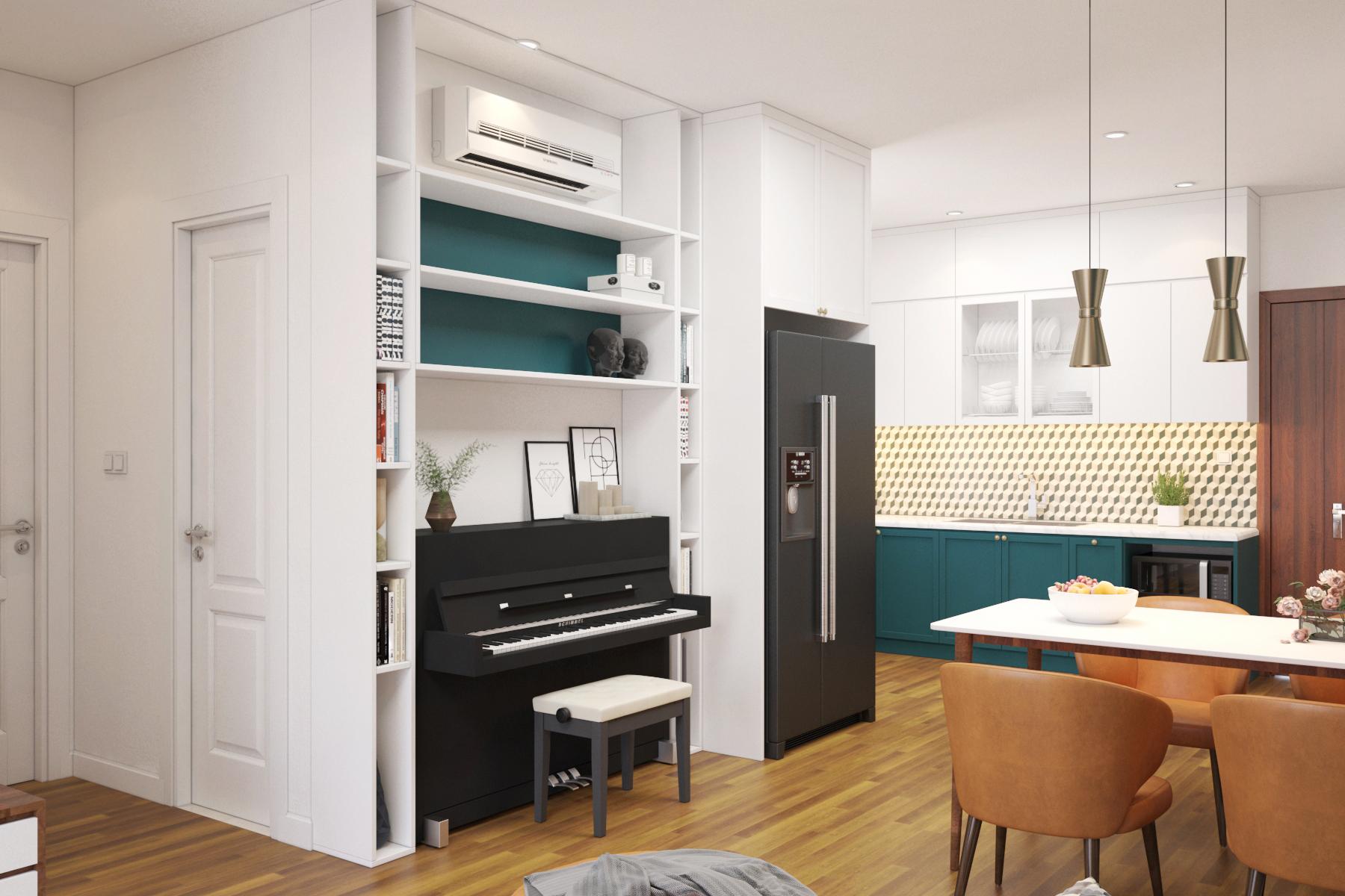 Thiết kế nội thất Chung Cư tại Hồ Chí Minh chung cư chị Tình 1627034867 4