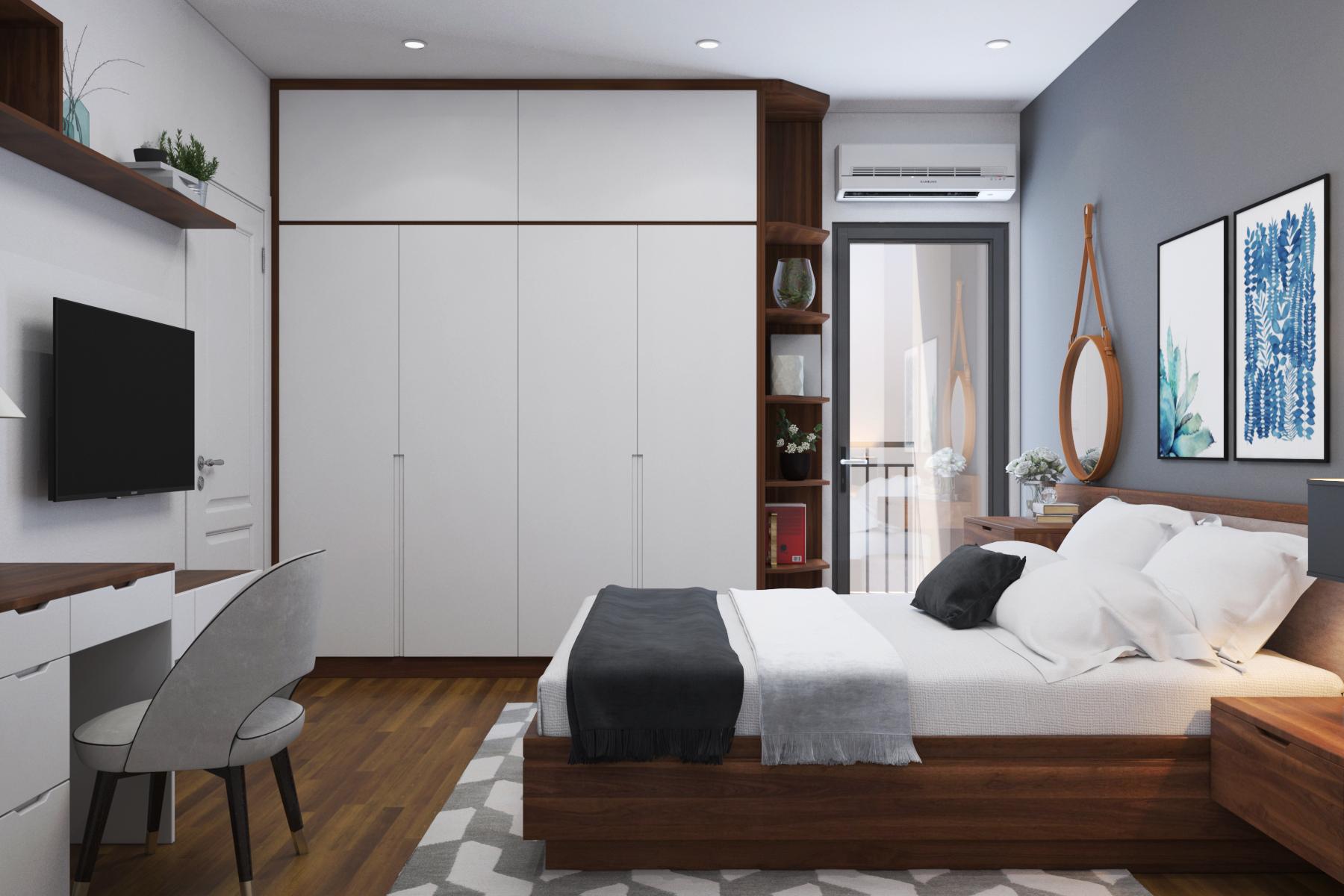 Thiết kế nội thất Chung Cư tại Hồ Chí Minh chung cư chị Tình 1627034868 9