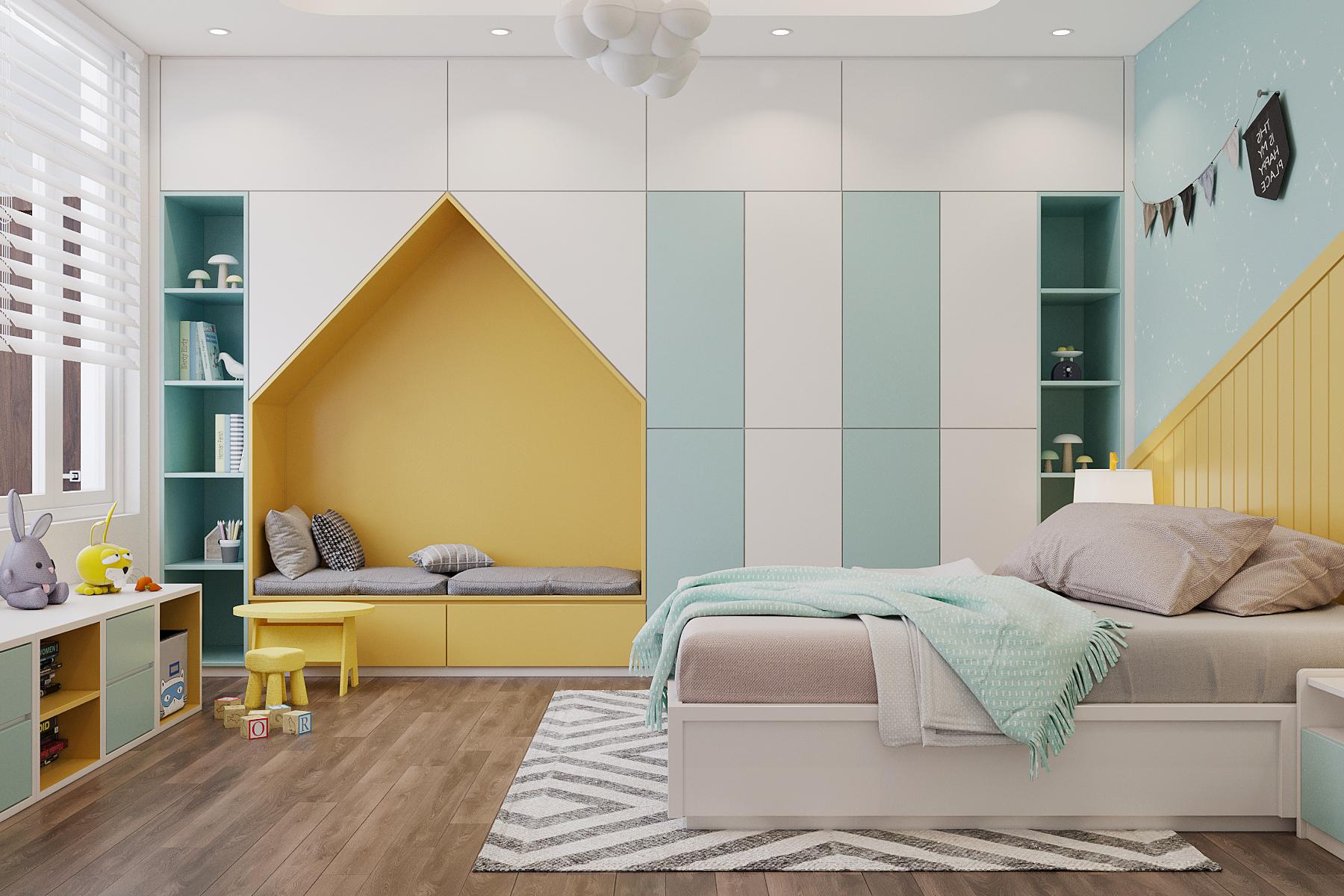 Thiết kế nội thất Nhà tại Quảng Ninh nhà lô anh Hiếu Uông Bí 1627033785 10